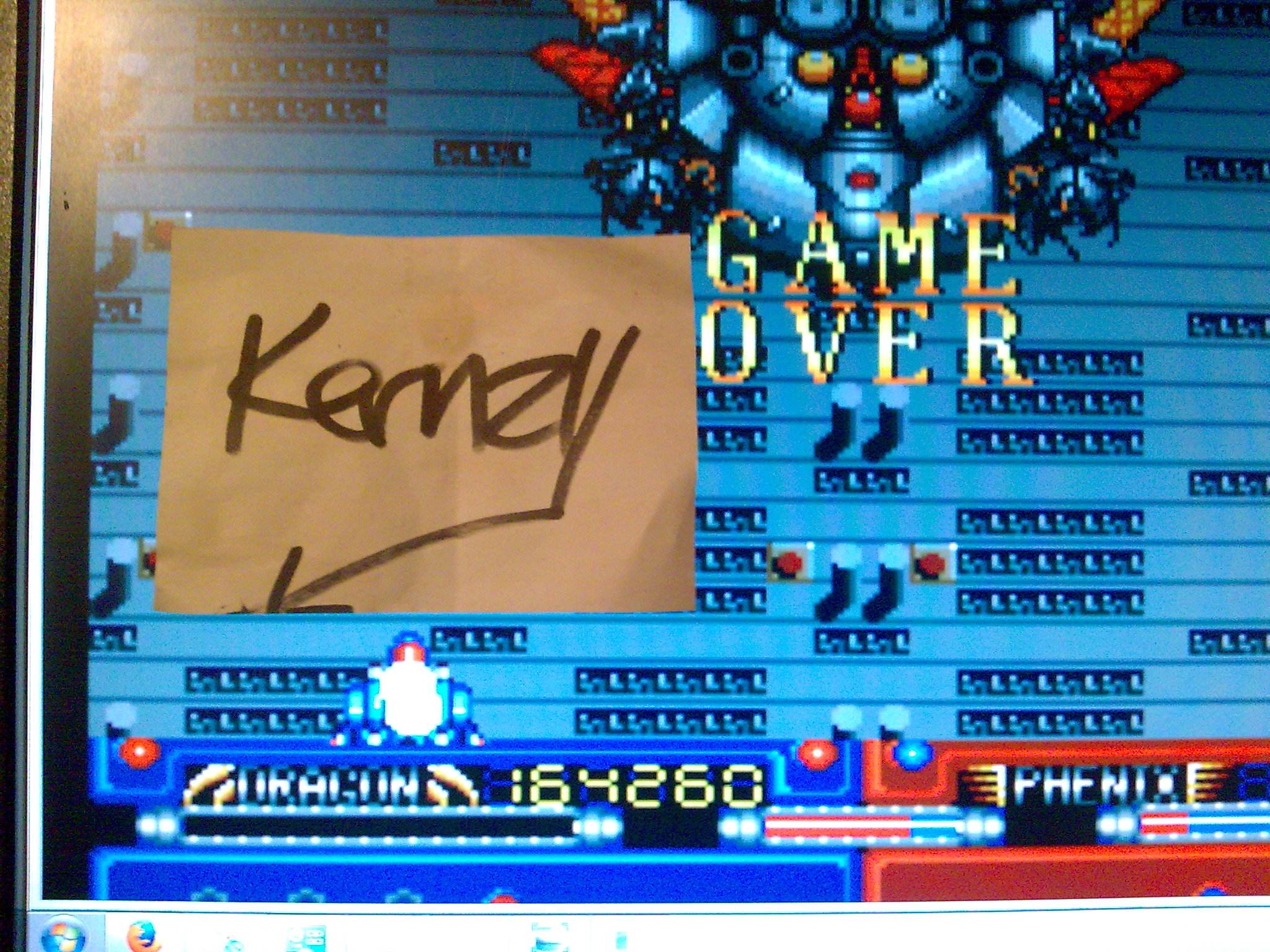 kernzy: Burning Angels (TurboGrafx-16/PC Engine Emulated) 164,260 points on 2014-10-09 15:00:01