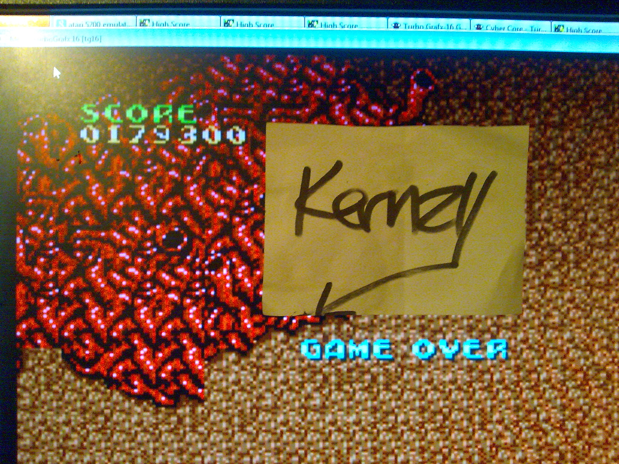 kernzy: Cyber-Core (TurboGrafx-16/PC Engine Emulated) 179,300 points on 2014-10-09 15:02:21