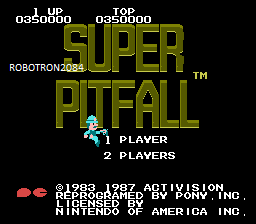 Super Pitfall 350,000 points