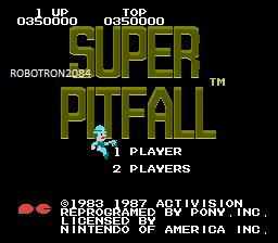 Robotron2084: Super Pitfall (NES/Famicom Emulated) 350,000 points on 2014-10-09 18:04:17
