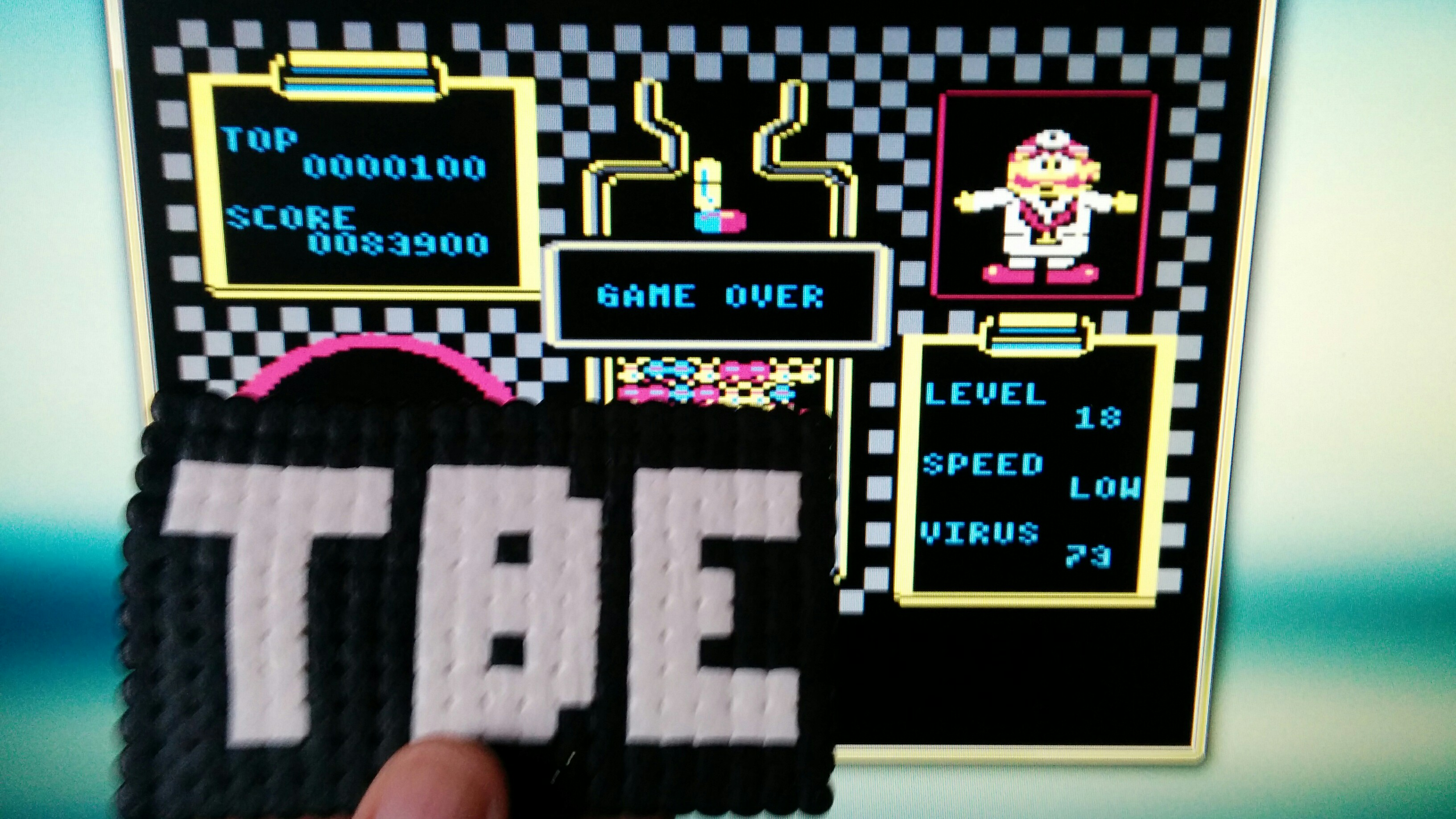 Sixx: Dr. Mario: Low (Atari 400/800/XL/XE Emulated) 83,900 points on 2014-10-10 11:06:06
