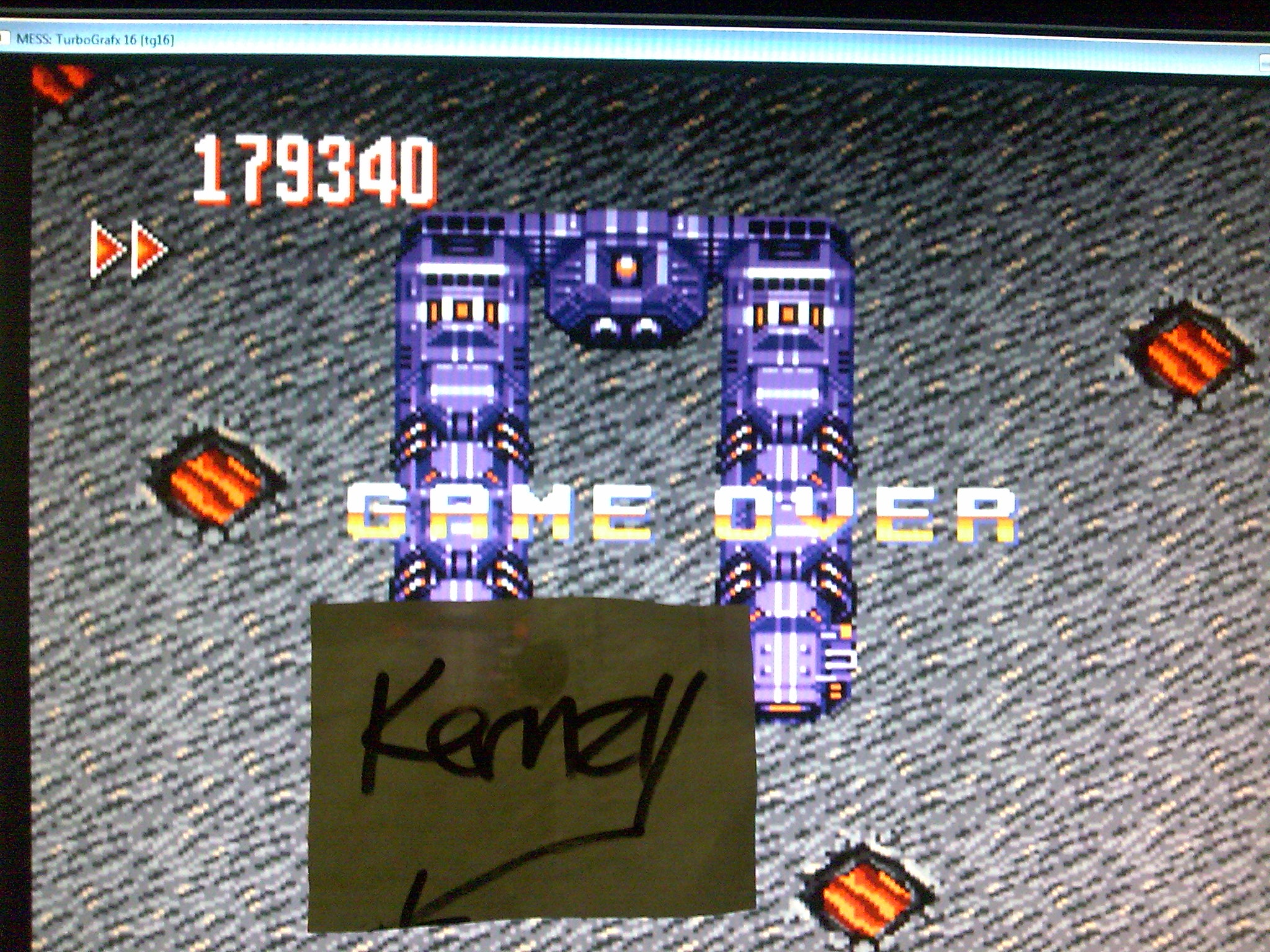 kernzy: Override (TurboGrafx-16/PC Engine Emulated) 179,340 points on 2014-10-10 12:31:48