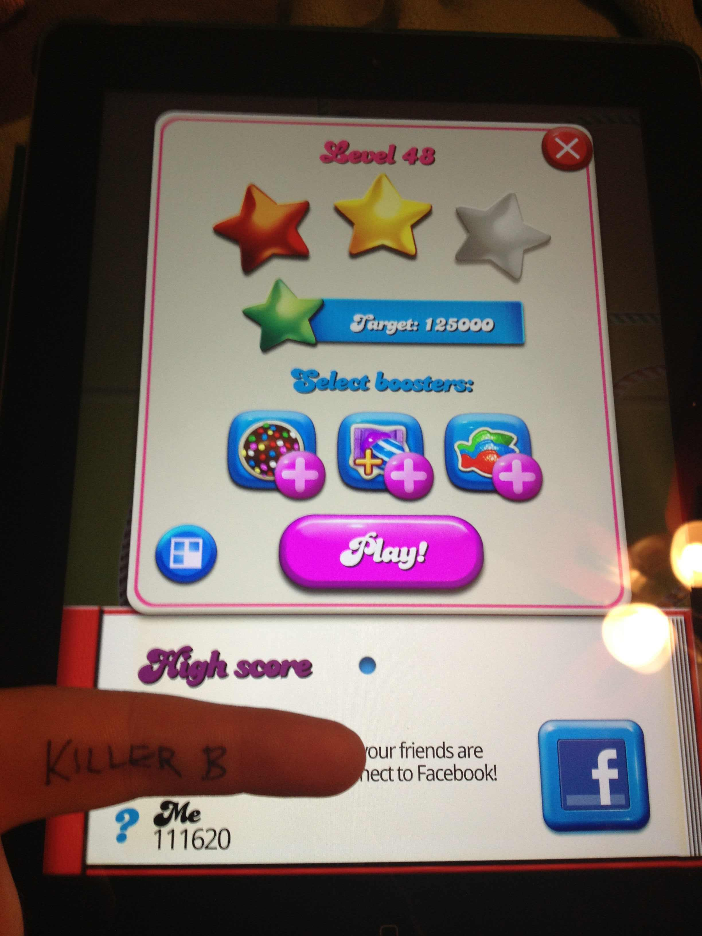 Candy Crush Saga: Level 048 111,620 points