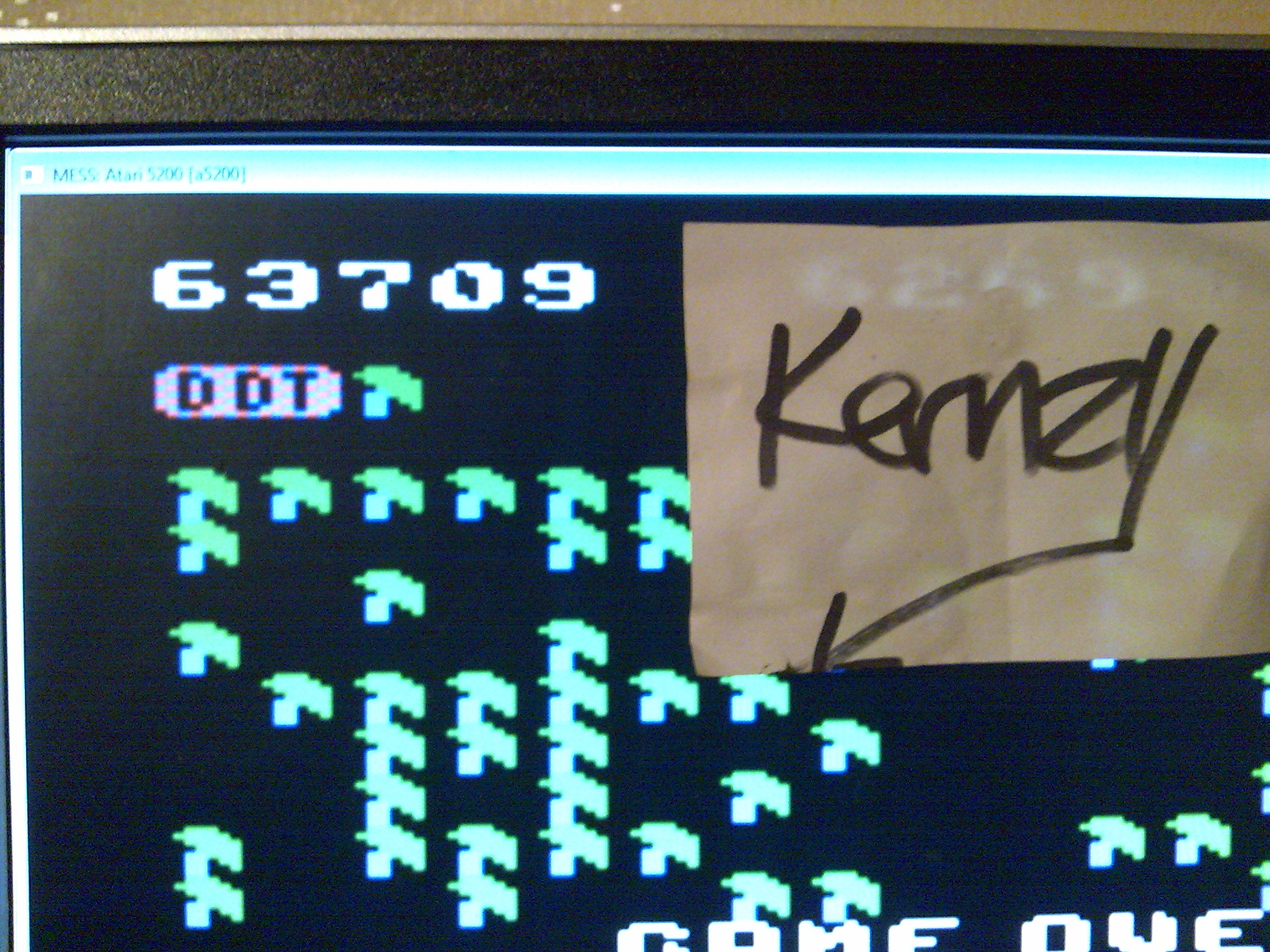 kernzy: Millipede (Atari 5200 Emulated) 63,709 points on 2014-10-11 03:24:50