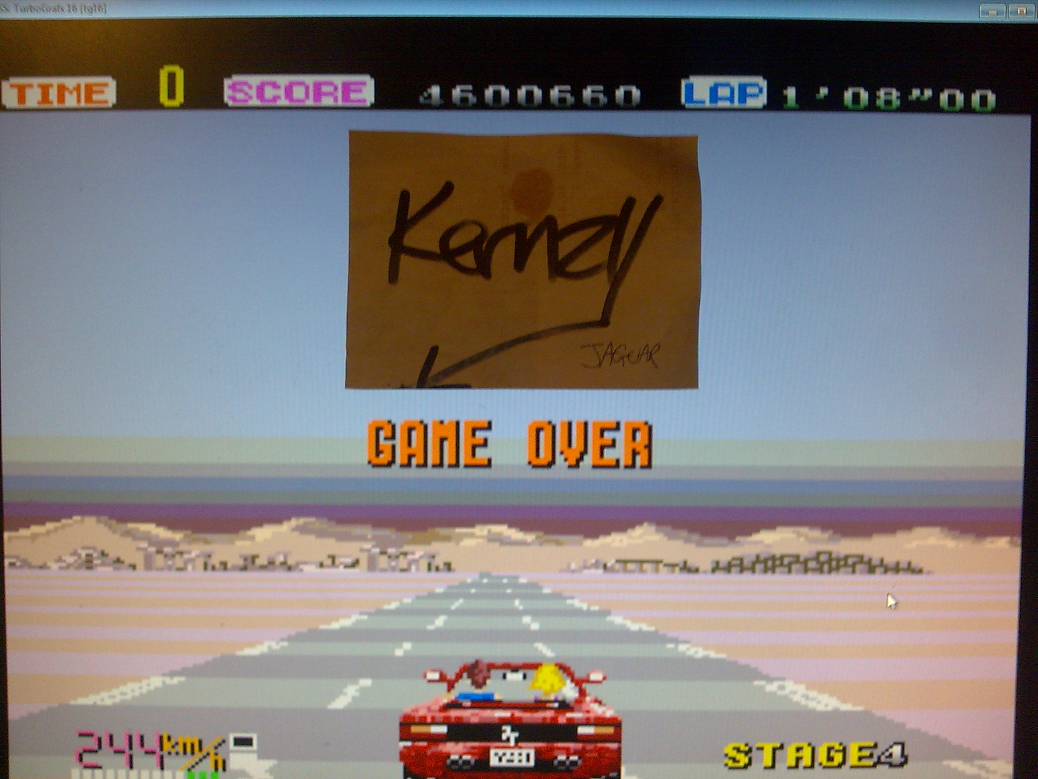 kernzy: Out Run: Easy (TurboGrafx-16/PC Engine Emulated) 4,600,660 points on 2014-10-11 10:53:24