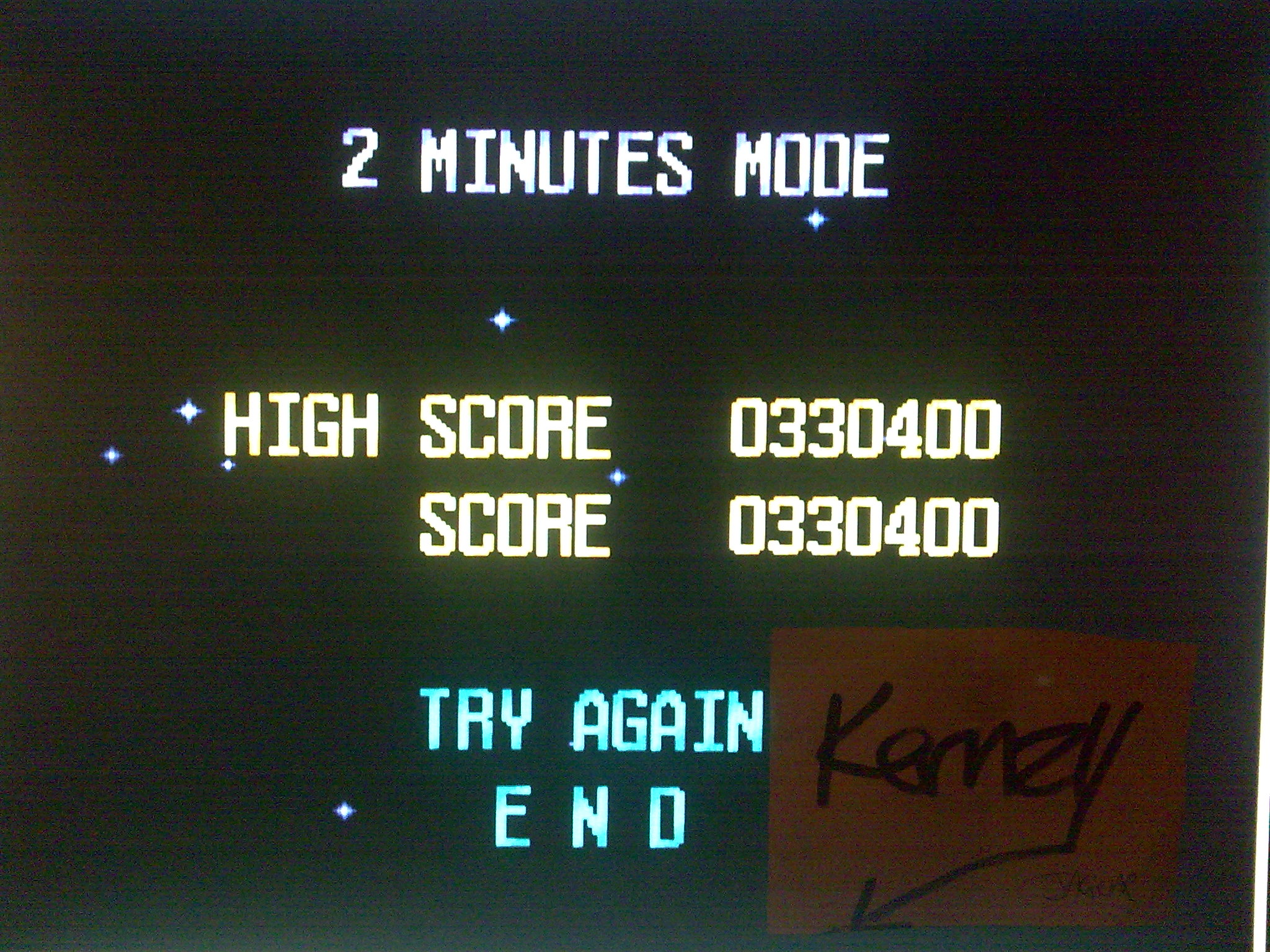 kernzy: Terra Cresta II [2 Minutes Mode] (TurboGrafx-16/PC Engine Emulated) 330,400 points on 2014-10-11 11:09:13