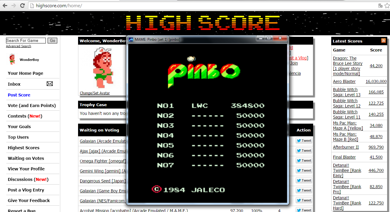 Pinbo [pinbo] 384,800 points
