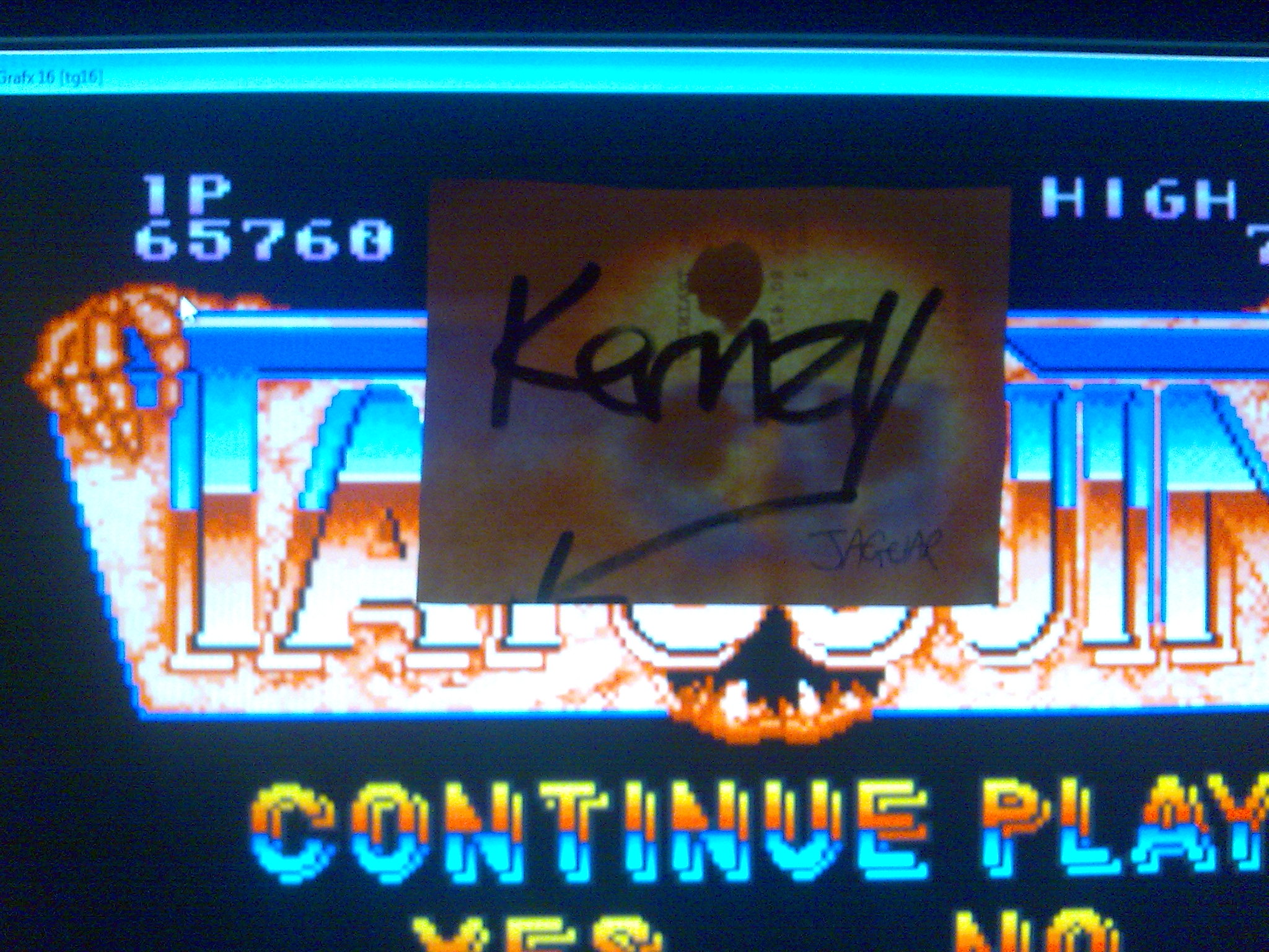 kernzy: Truxton (TurboGrafx-16/PC Engine Emulated) 65,760 points on 2014-10-11 18:06:12