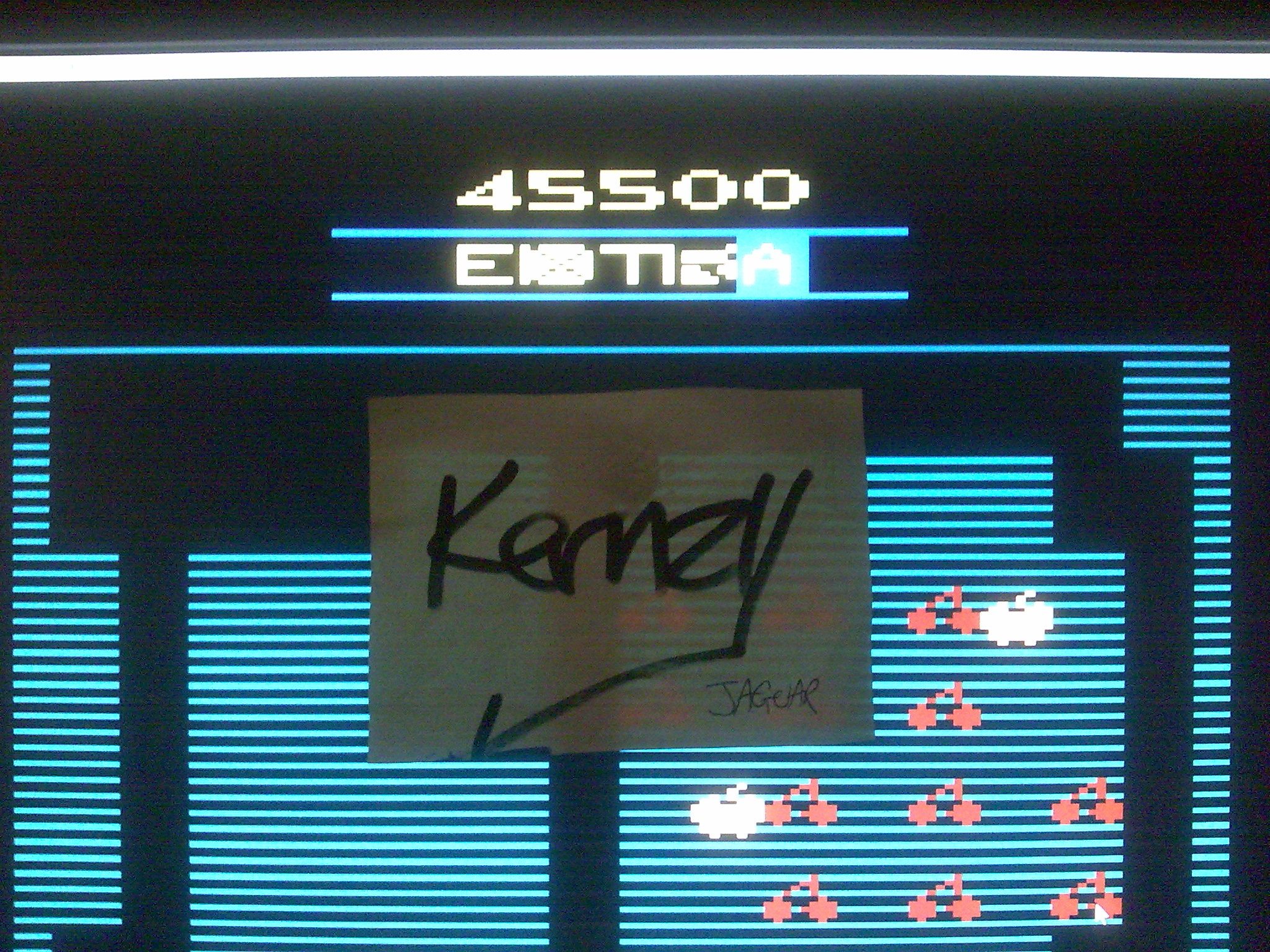 kernzy: Mr. Do! (Atari 2600 Emulated) 45,500 points on 2014-10-12 07:35:13