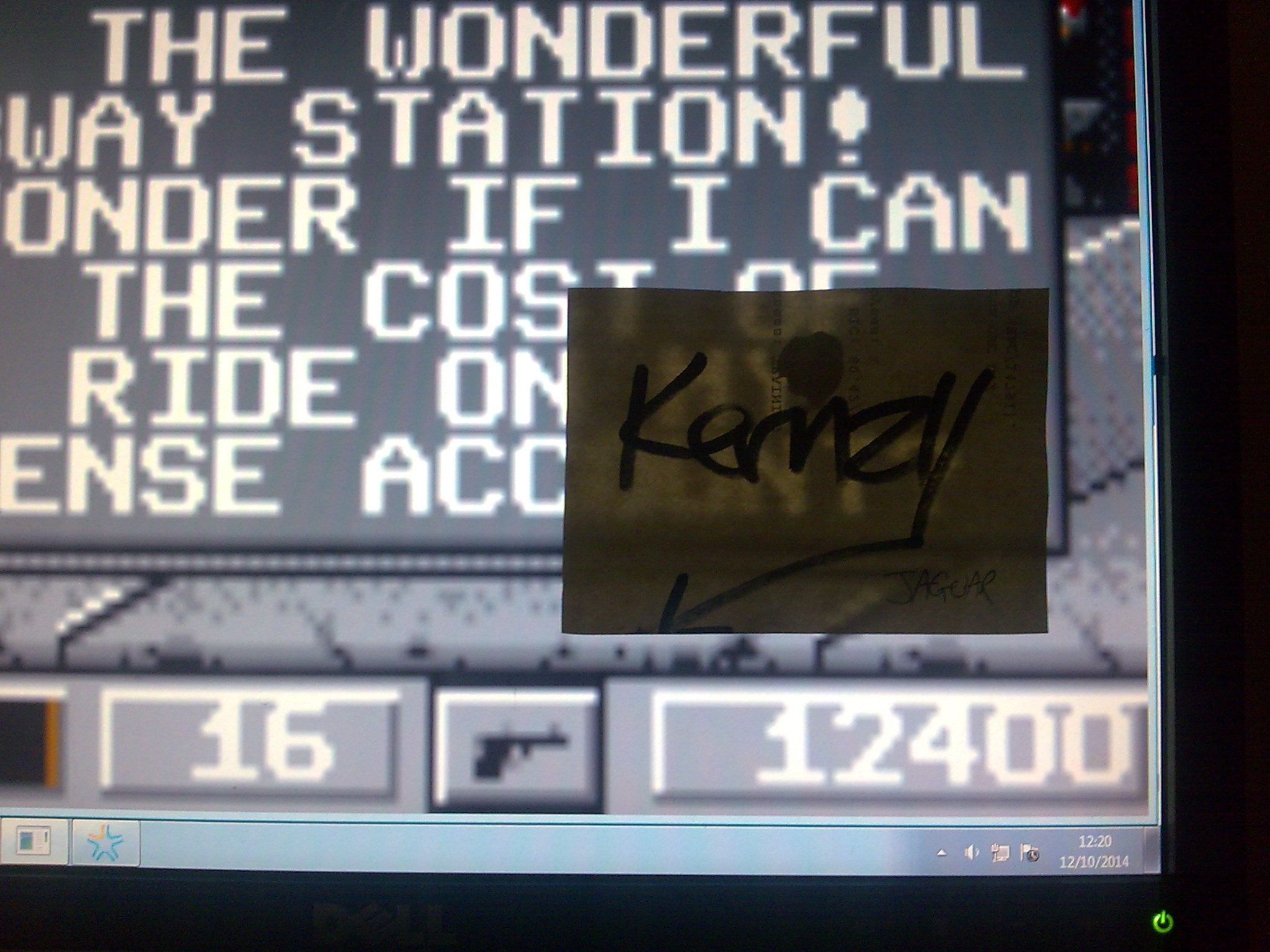 kernzy: Dirty Larry - Renegade Cop (Atari Lynx Emulated) 12,400 points on 2014-10-12 09:25:04