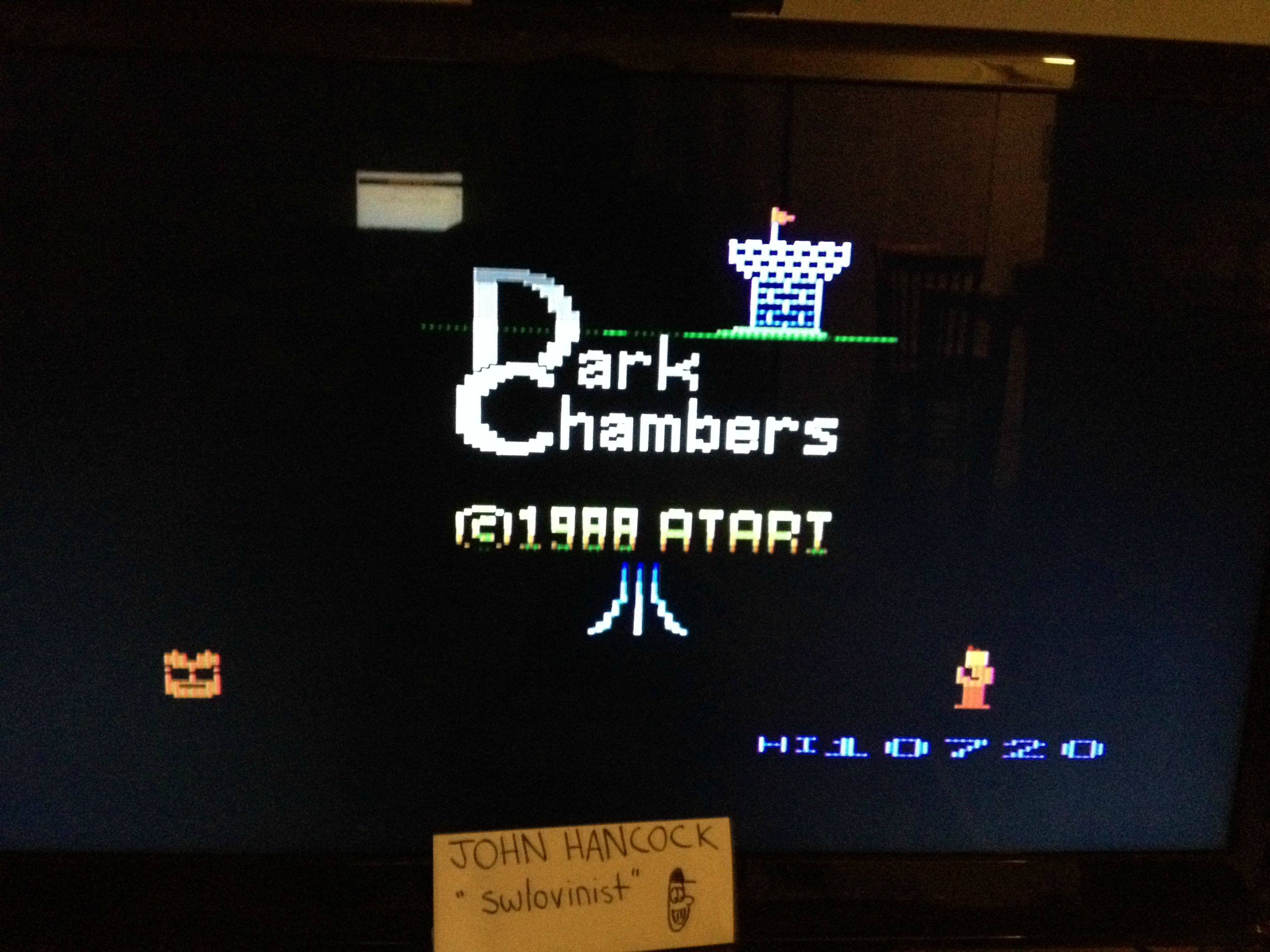 Dark Chambers 10,720 points
