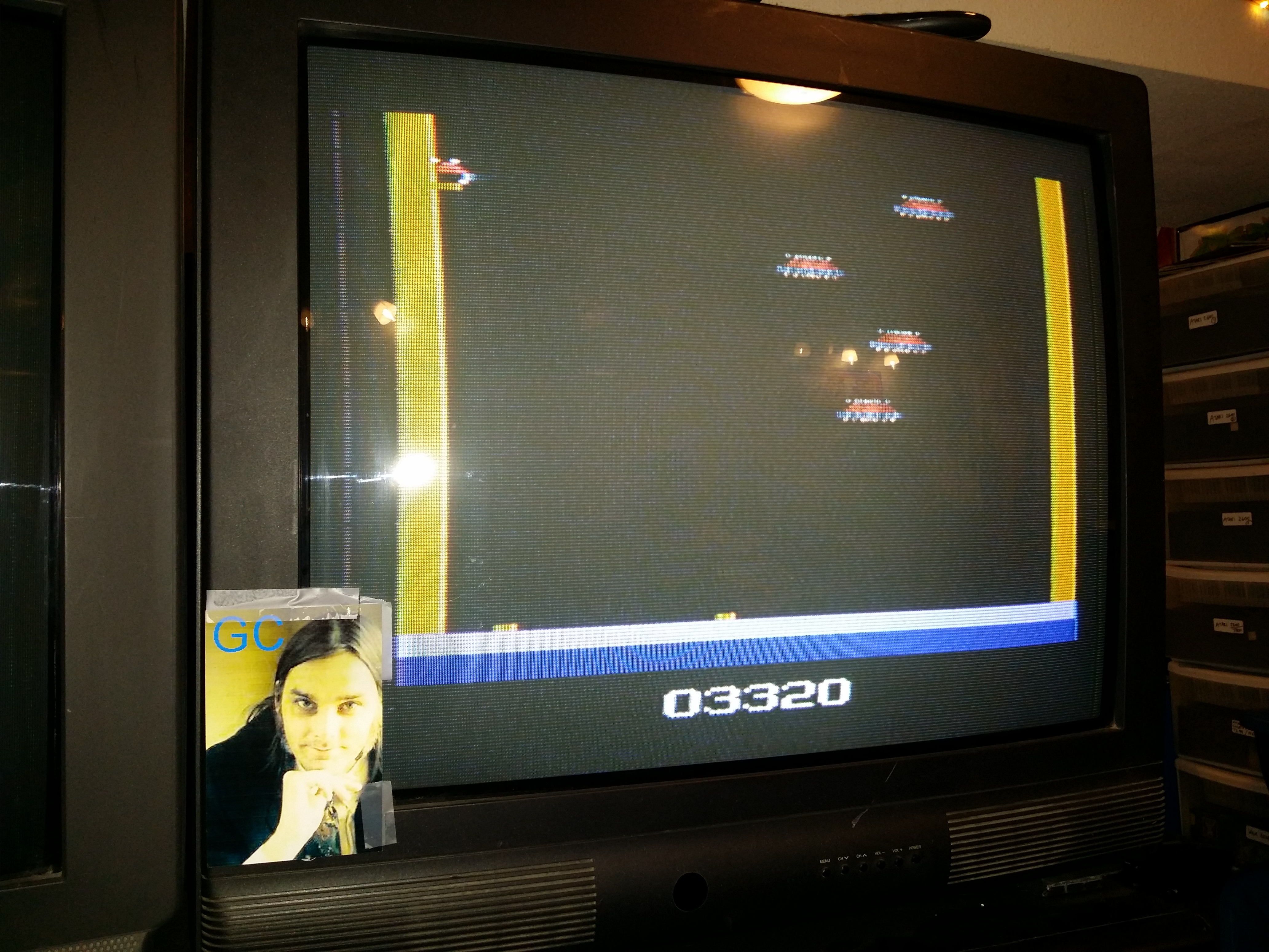 glenncase: Deadly Duck (Atari 2600 Novice/B) 3,320 points on 2014-10-12 15:54:06