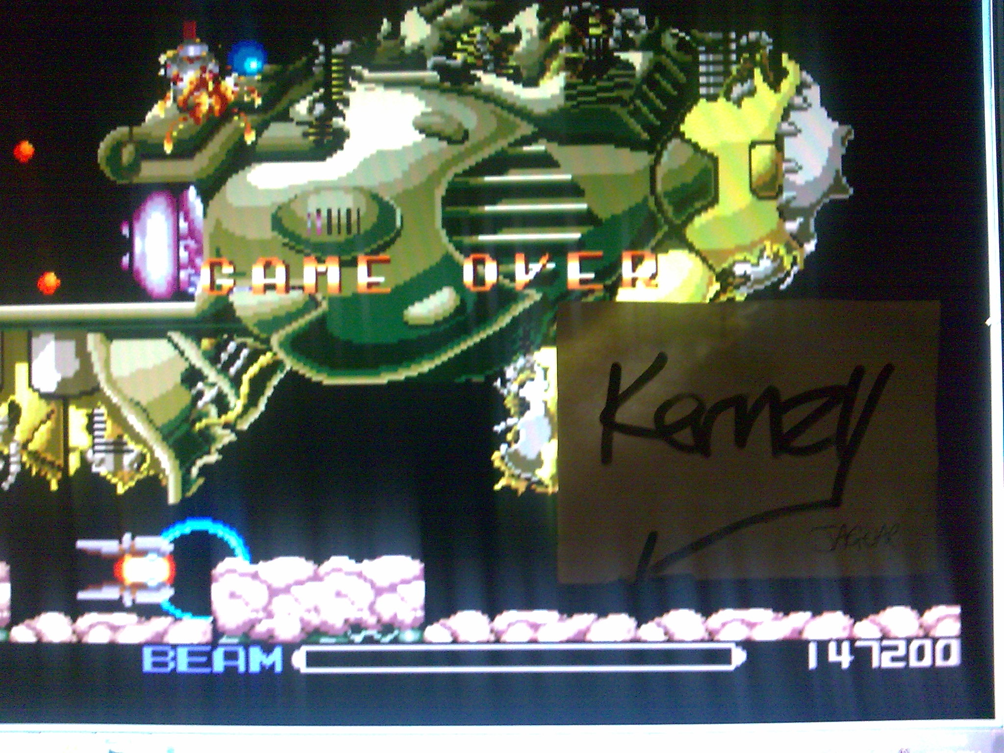 kernzy: R-Type (TurboGrafx-16/PC Engine Emulated) 147,200 points on 2014-10-12 17:43:17