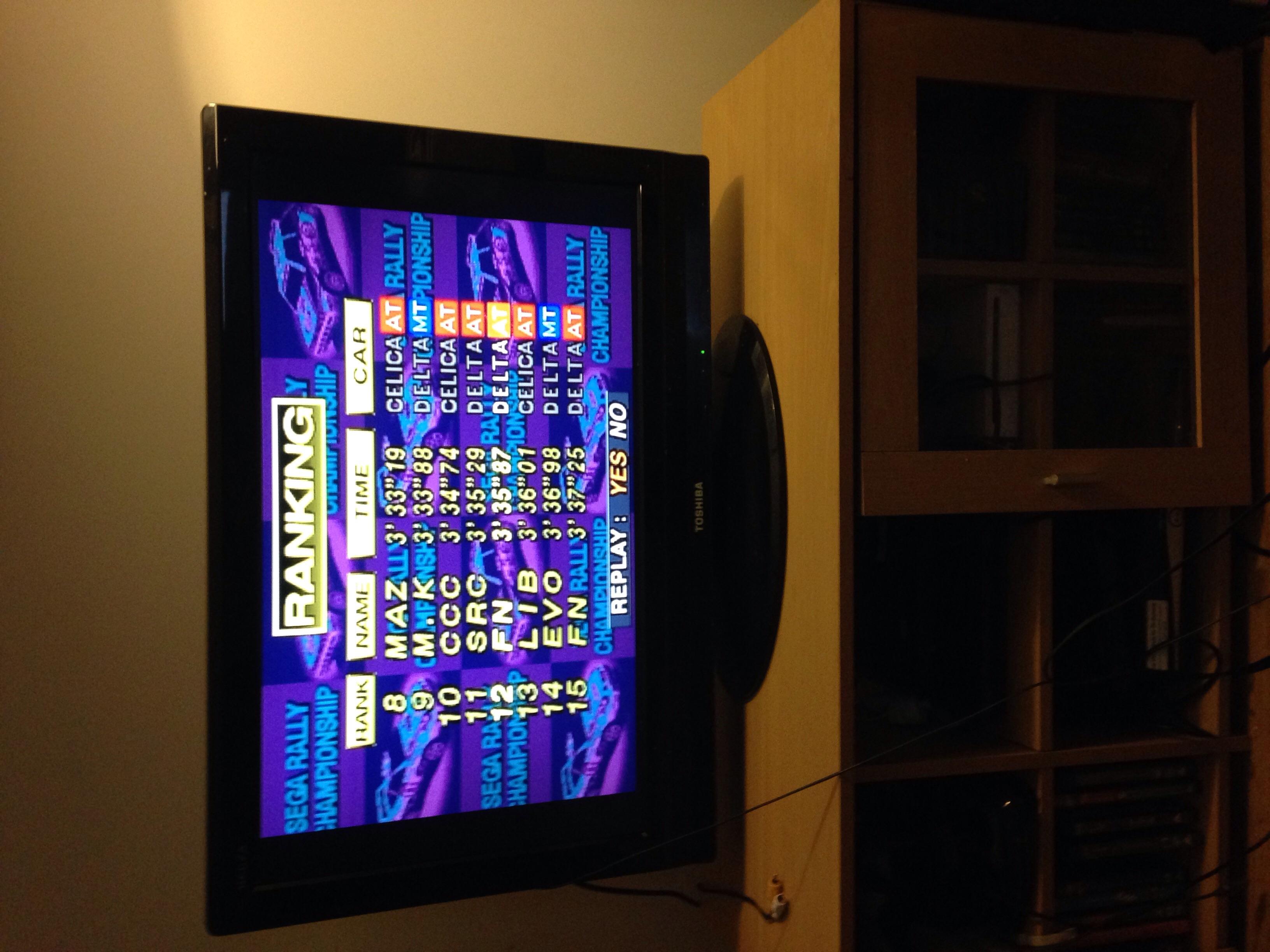 Sega Rally Championship [Arcade] time of 0:03:35.87