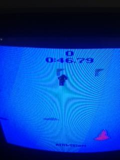 Skiing: Game 4 time of 0:00:46.79