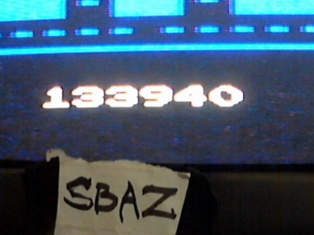 Pac-Man Arcade 133,940 points