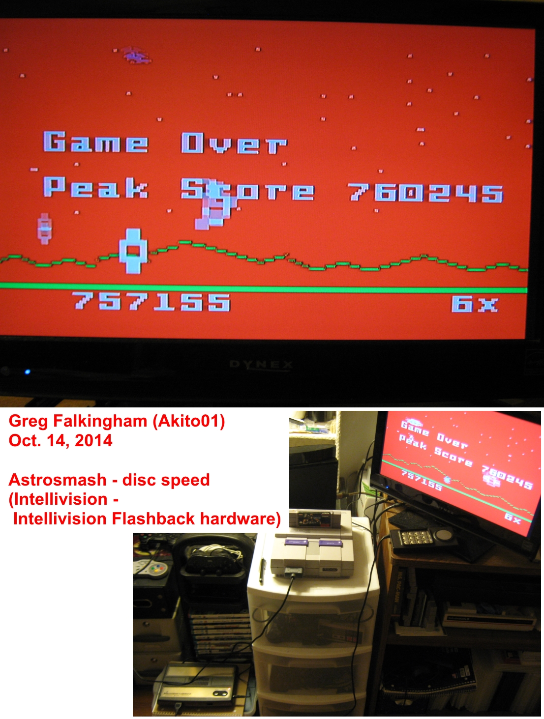 Astrosmash [Peak Score] 760,245 points