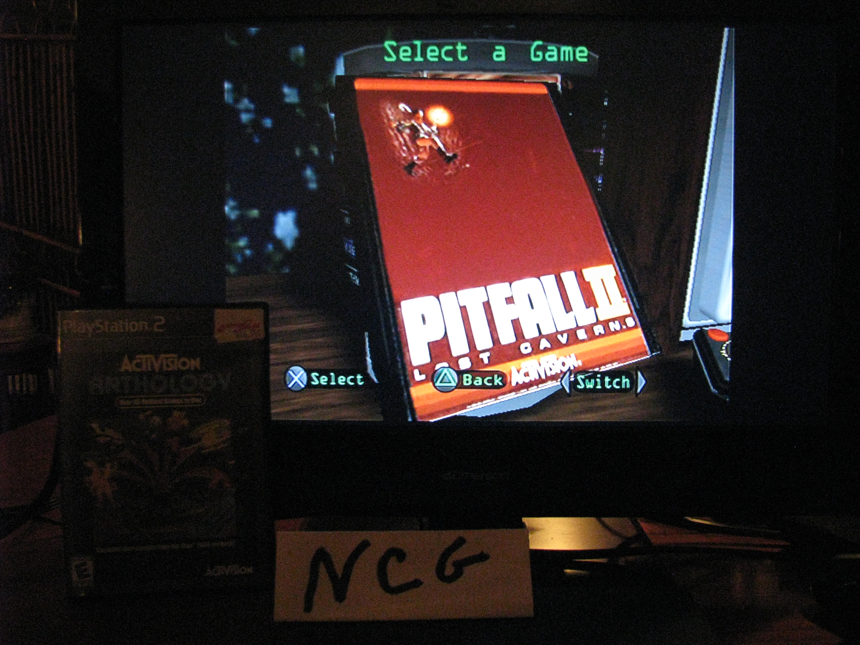 NorthCoastGamer: Activision Anthology: Pitfall II: Lost Caverns [Game 1] (Playstation 2) 199,000 points on 2014-10-15 13:43:42