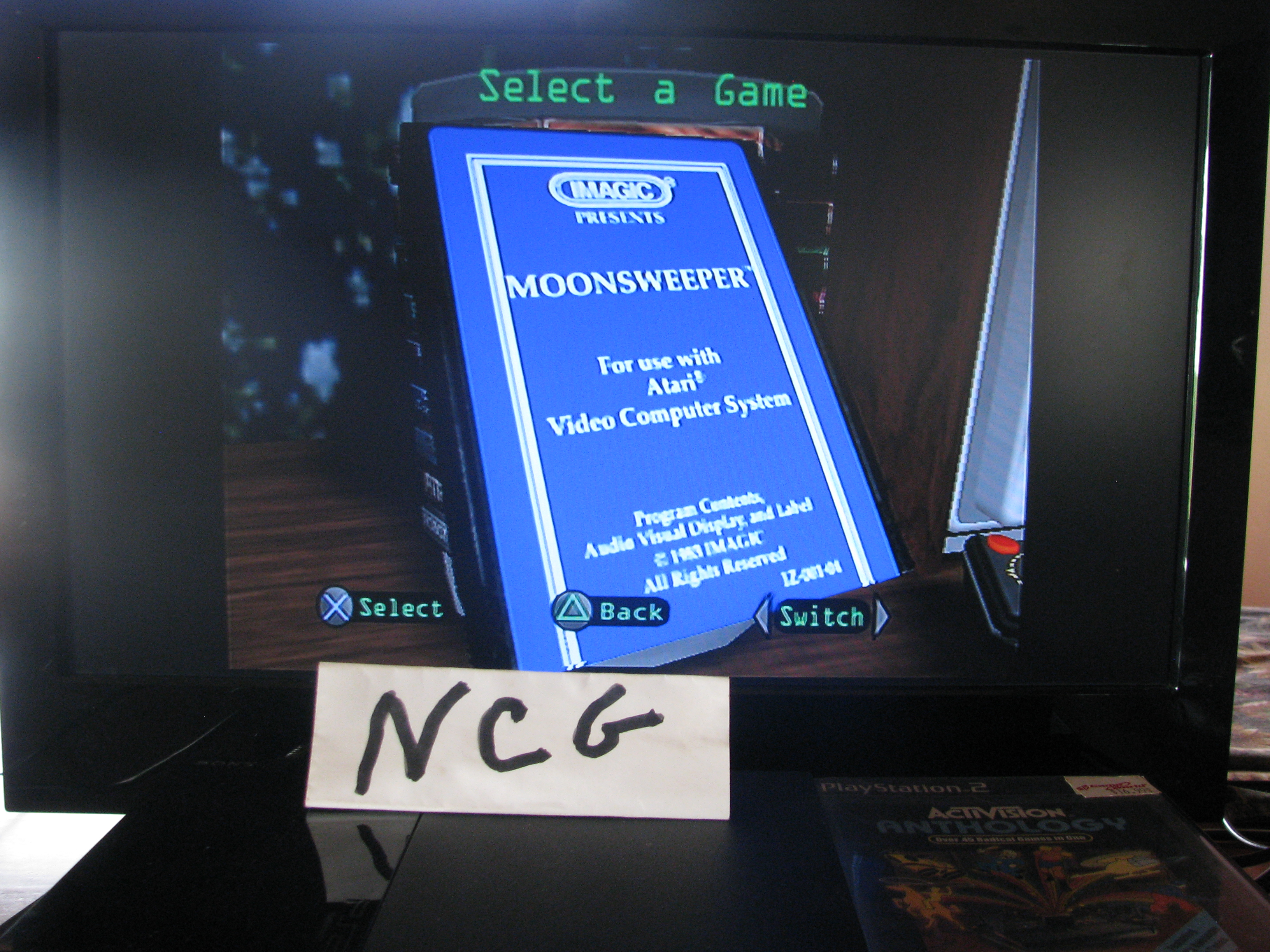 NorthCoastGamer: Activision Anthology: Moonsweeper [Game 1B] (Playstation 2) 259,970 points on 2014-10-15 14:48:28