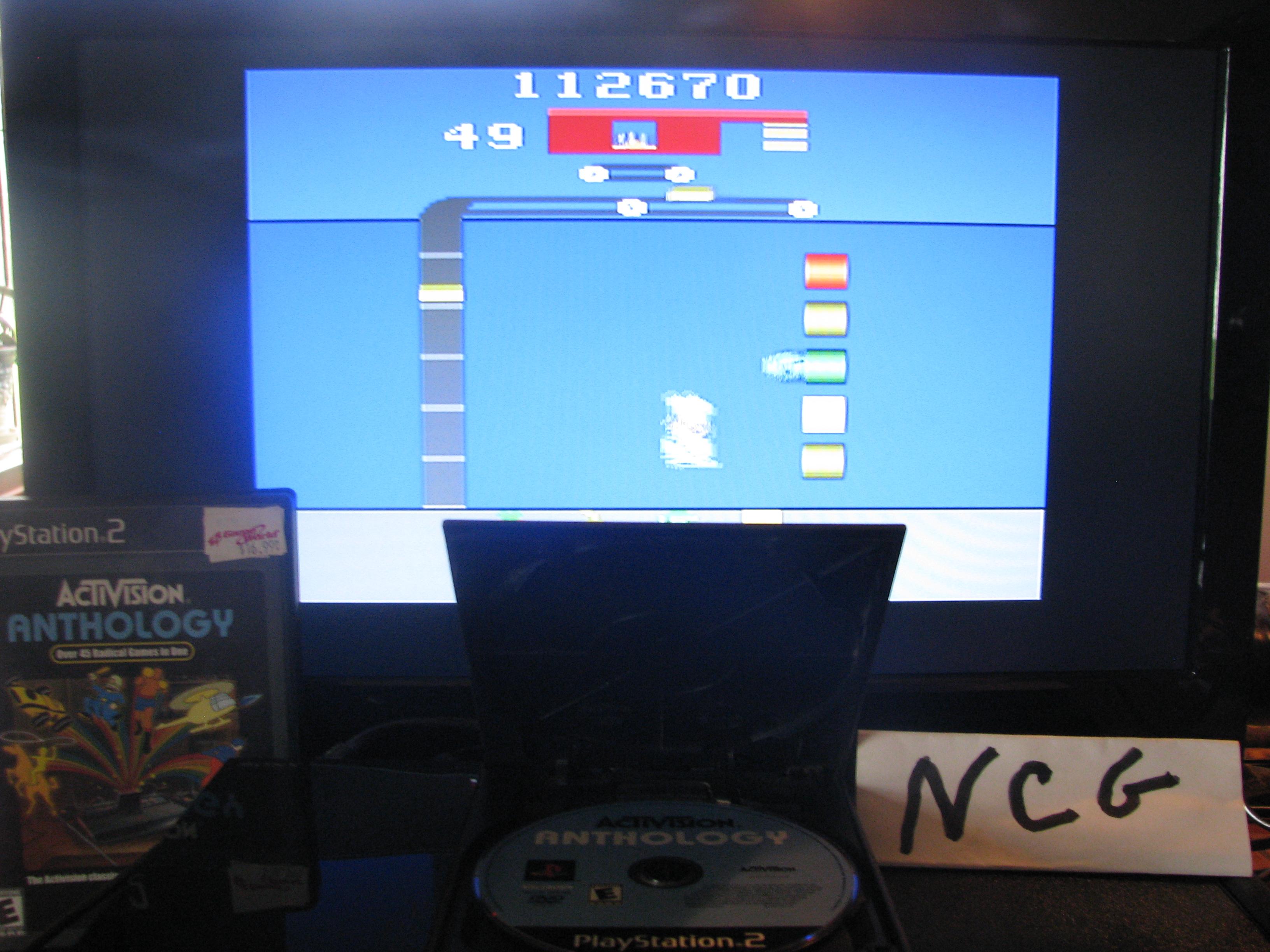 NorthCoastGamer: Activision Anthology: Pressure Cooker [Game 1B] (Playstation 2) 112,670 points on 2014-10-15 14:52:42