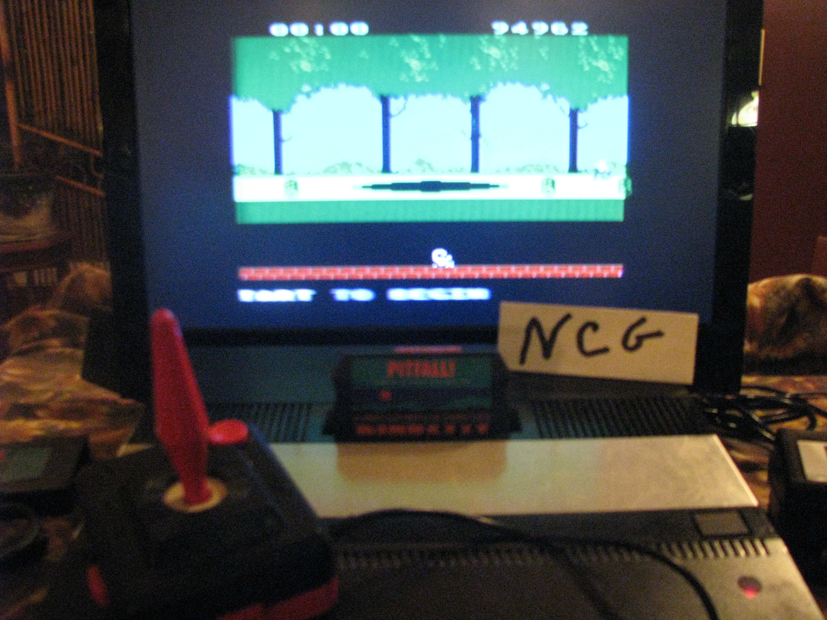 NorthCoastGamer: Pitfall (Atari 5200) 94,962 points on 2014-10-16 20:30:26
