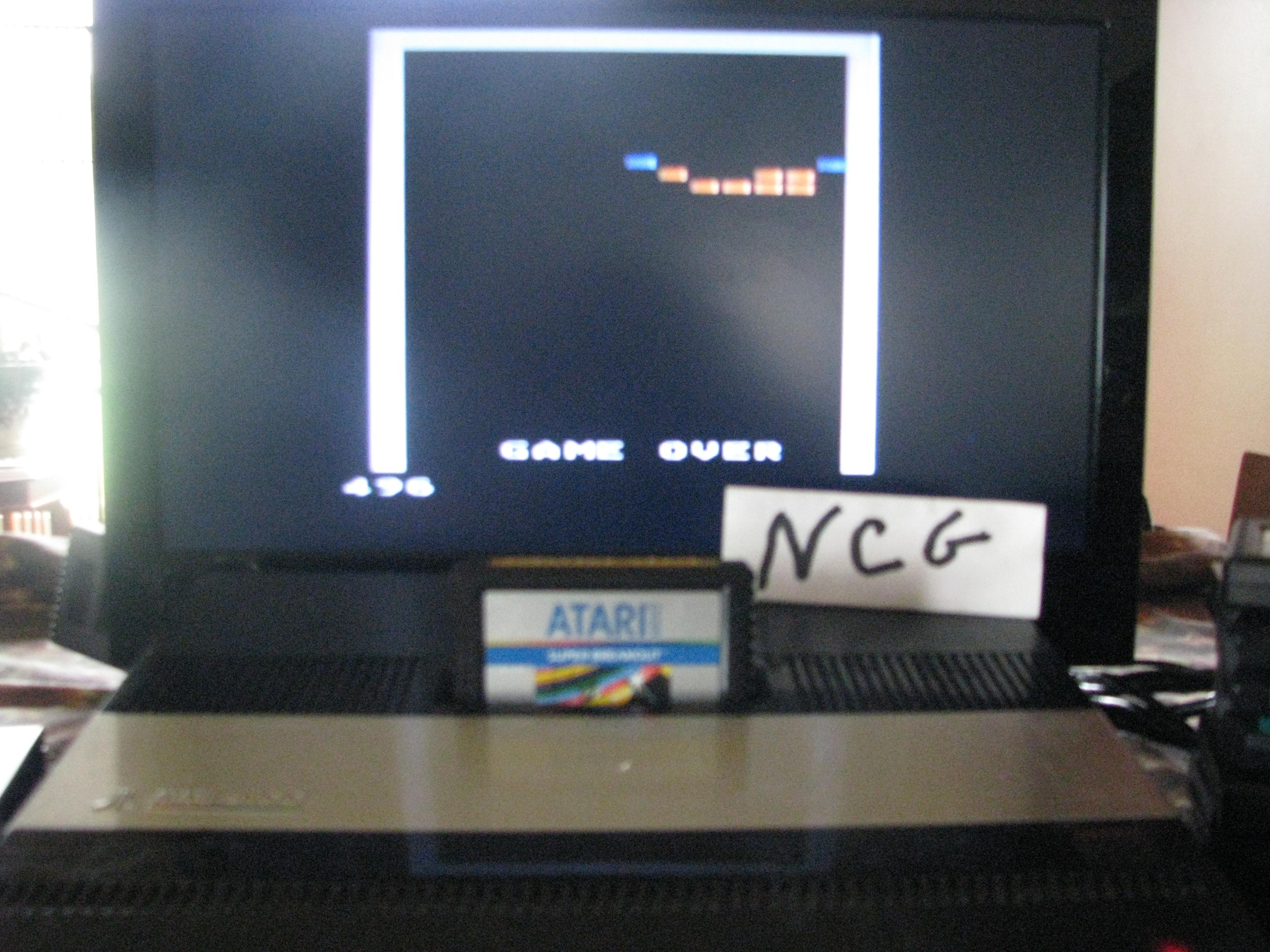 NorthCoastGamer: Super Breakout: Cavity (Atari 5200) 496 points on 2014-10-16 20:33:20