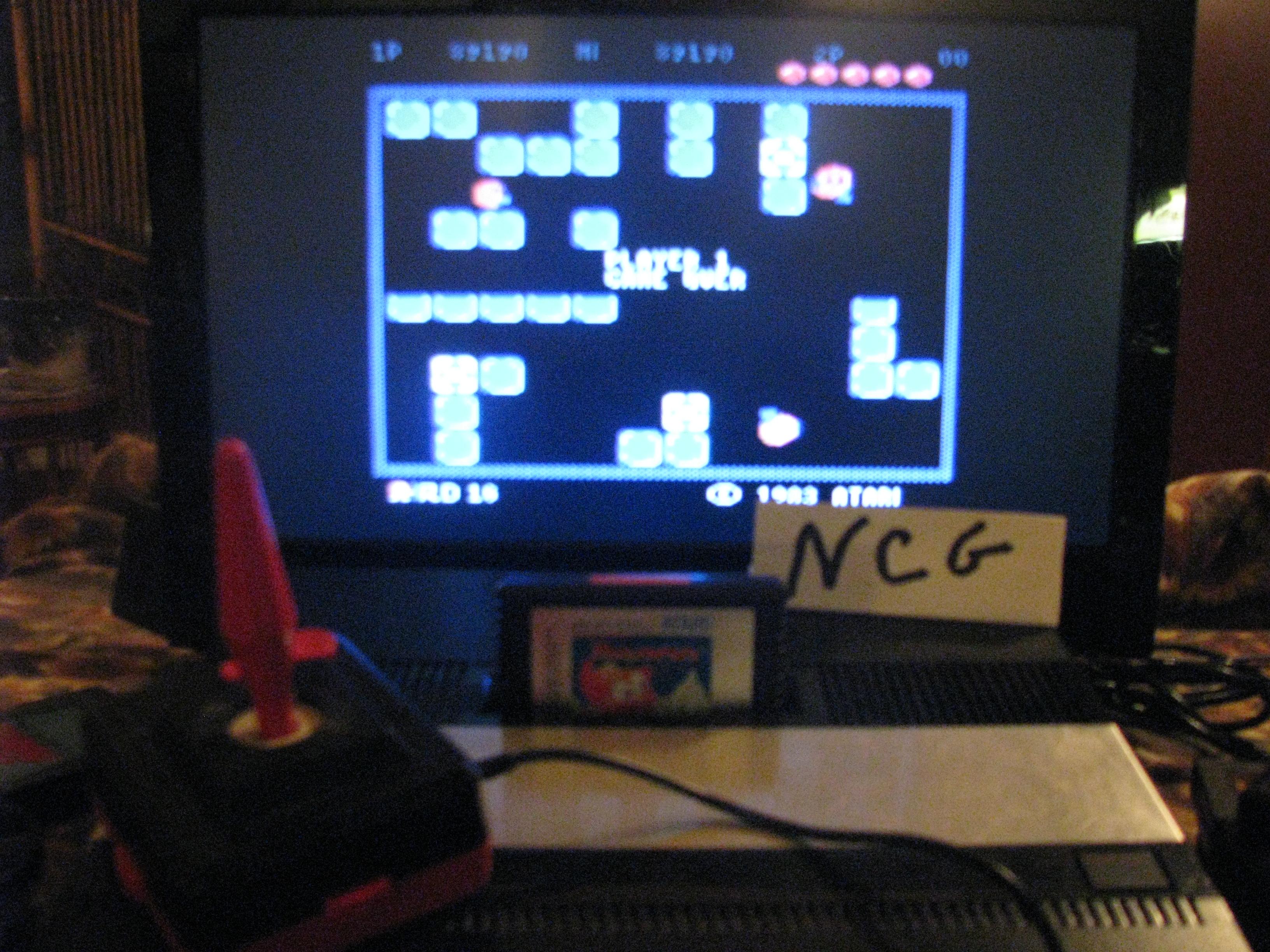 NorthCoastGamer: Pengo (Atari 5200) 89,190 points on 2014-10-16 20:36:01