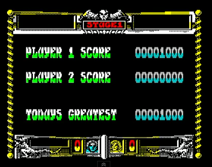 mechafatnick: Golden Axe (ZX Spectrum Emulated) 1,000 points on 2014-10-16 23:25:00