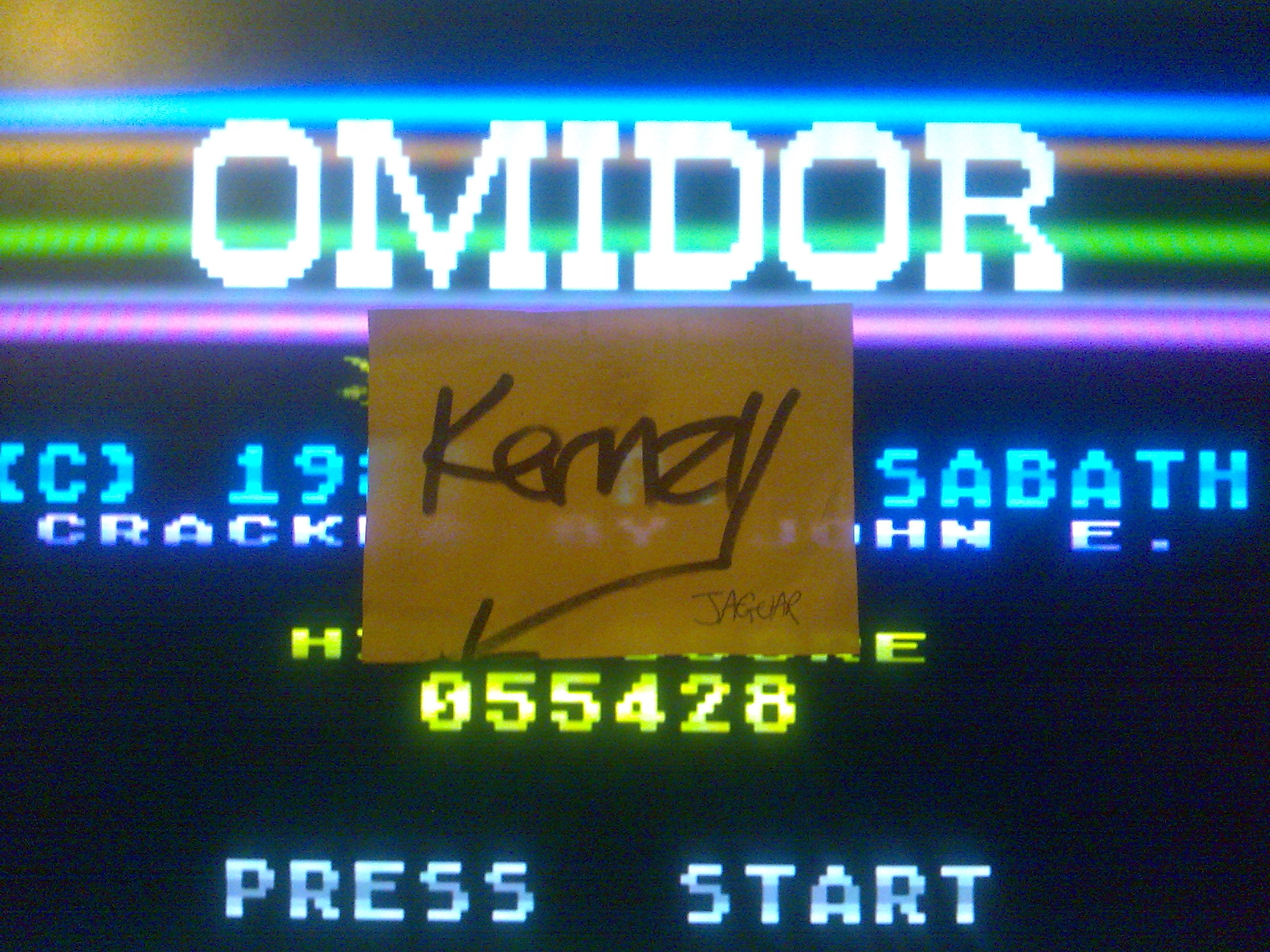 kernzy: Omidor (Atari 400/800/XL/XE Emulated) 55,428 points on 2014-10-17 01:12:21
