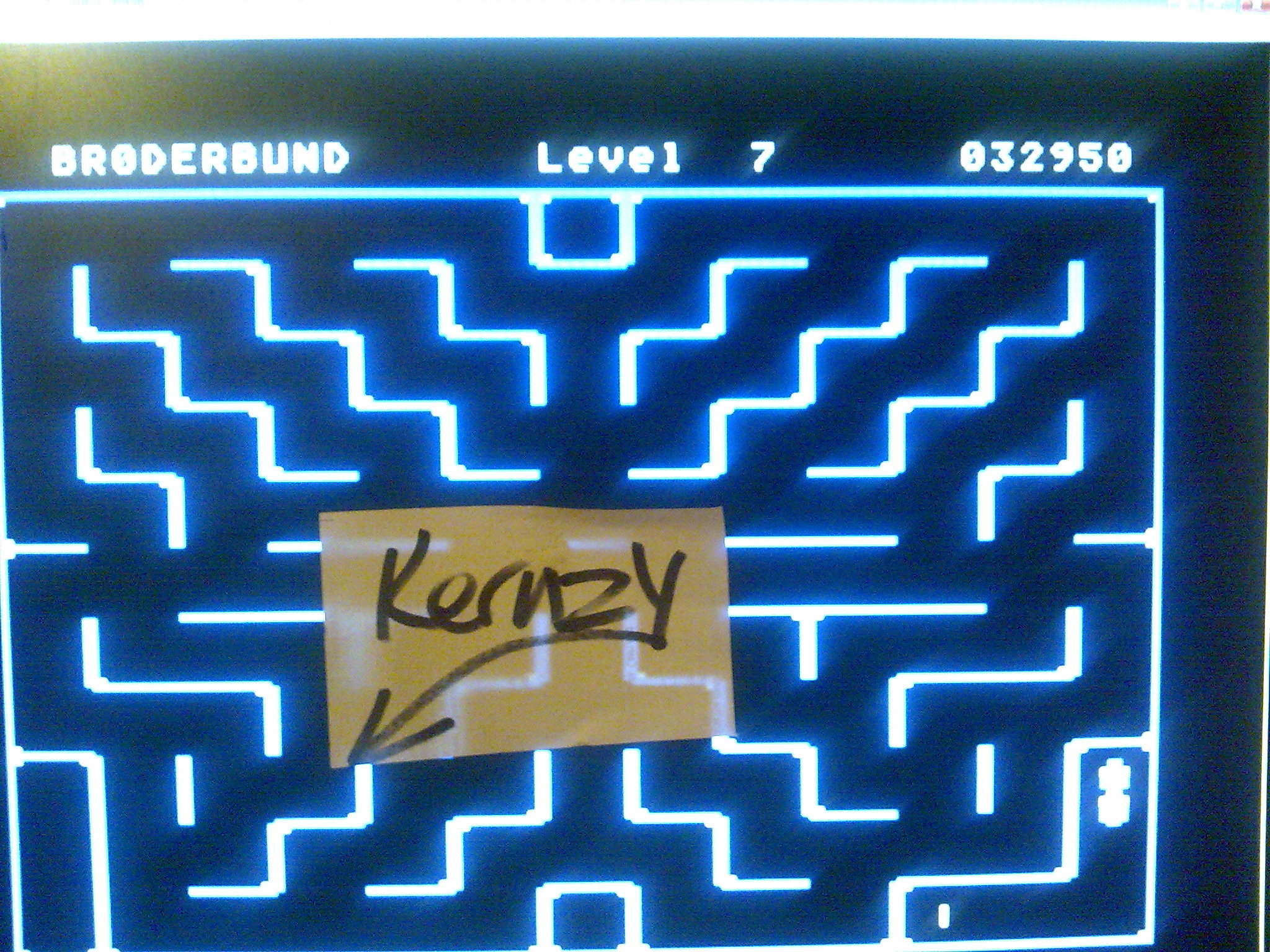 kernzy: Serpentine (Atari 400/800/XL/XE Emulated) 32,950 points on 2014-10-17 20:57:45