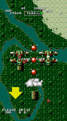 BarryBloso: Bermuda Triangle (Arcade Emulated / M.A.M.E.) 29,460 points on 2014-10-18 04:45:04