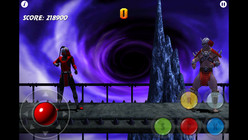 Congslop: Ultimate Mortal Kombat 3: Shao Karnage (iOS) 218,900 points on 2014-10-18 04:58:36