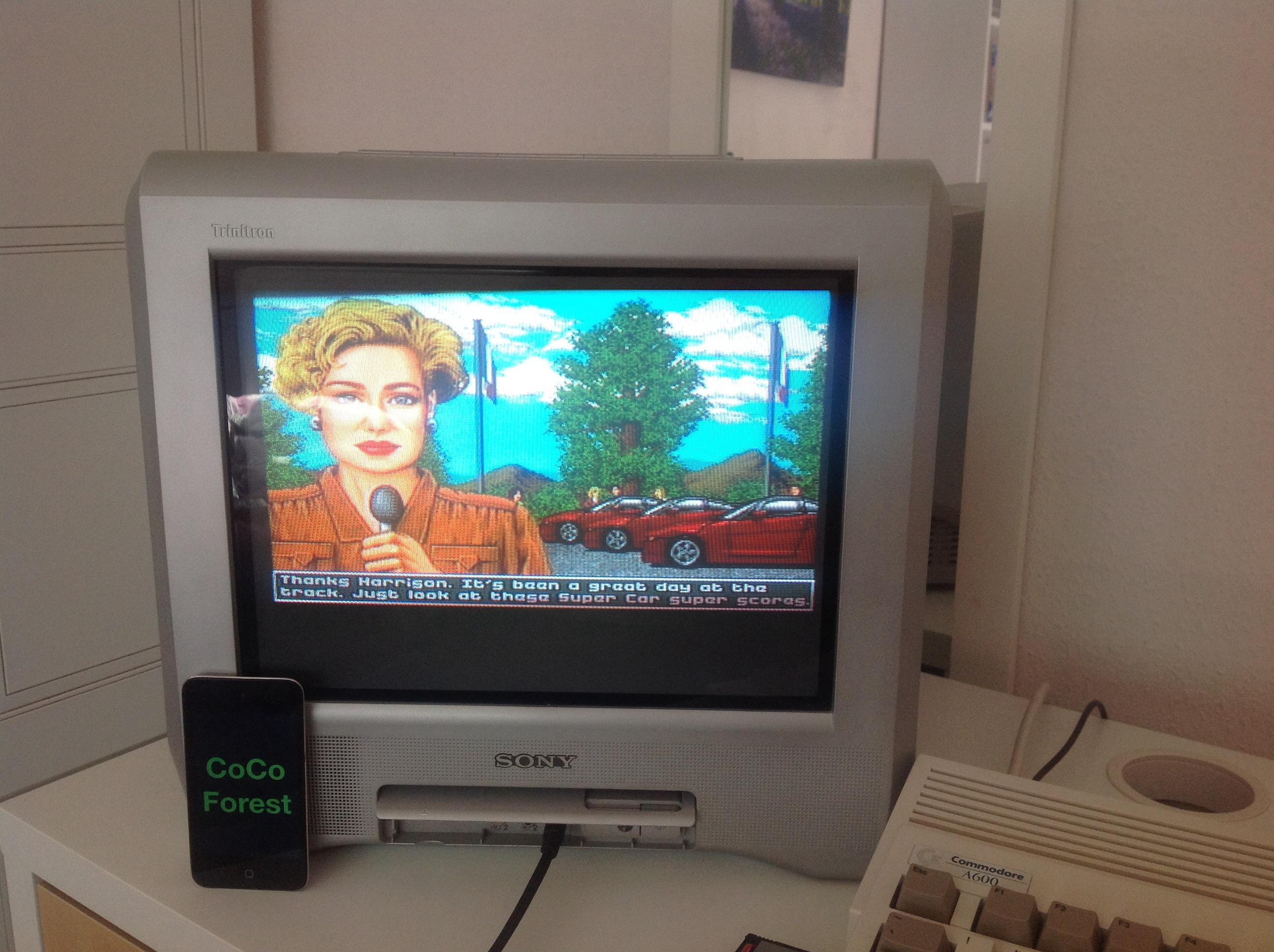 CoCoForest: Super Cars 2 [Medium] (Amiga) 28 points on 2014-10-18 05:06:10