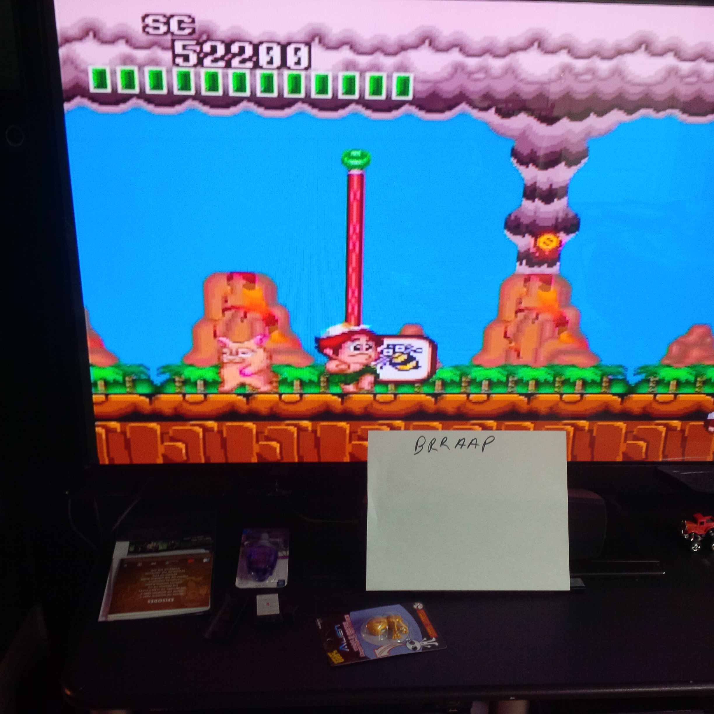 brraap: New Adventure Island (TurboGrafx-16/PC Engine) 52,200 points on 2014-10-18 13:13:37