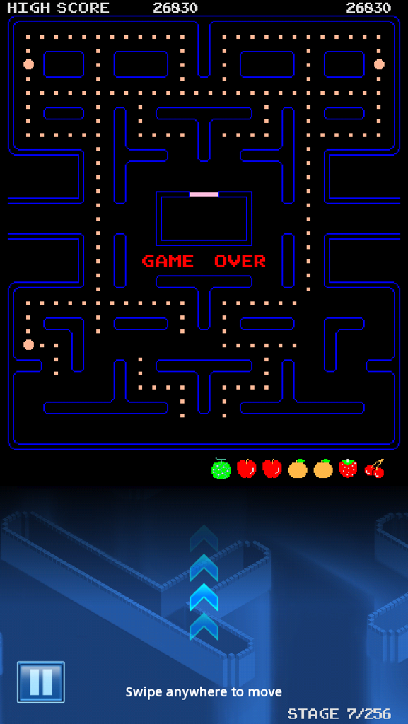 Congslop: Pac-Man: Classic Map [No Continues] (iOS) 26,830 points on 2014-10-18 17:10:10
