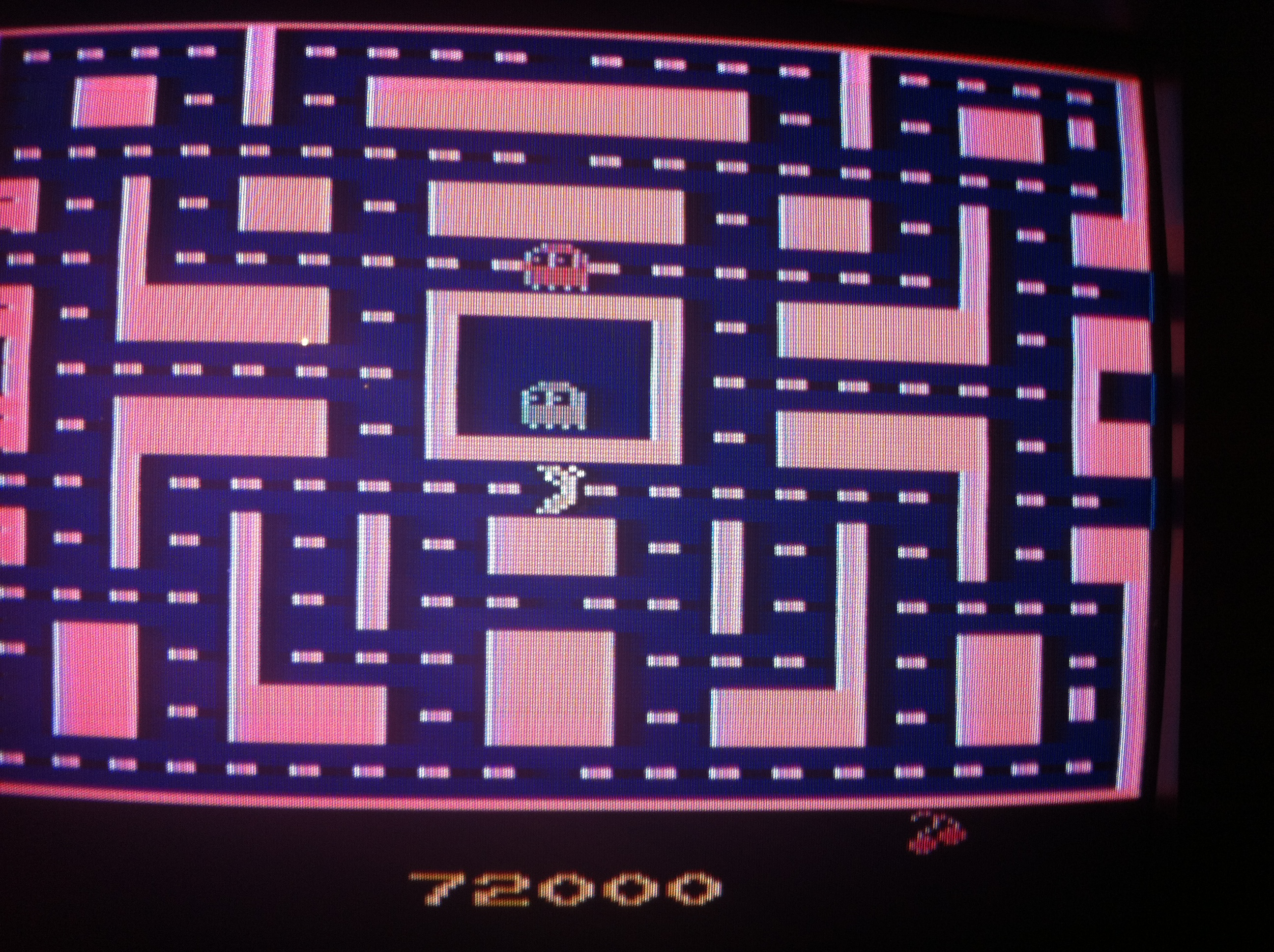 DIM: Ms. Pac-Man (Atari 2600) 72,000 points on 2014-10-19 01:06:36