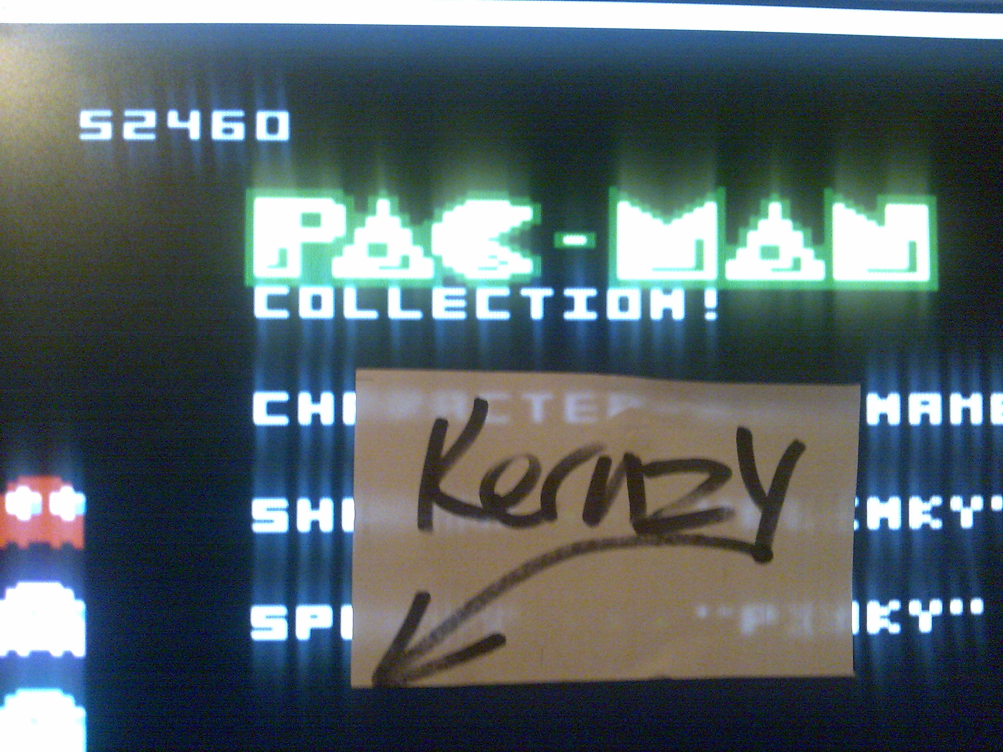 kernzy: Pac-Man Collection: Ultra Pac-Man [Cherries/Plus Off/Fast Off] (Atari 7800 Emulated) 52,460 points on 2014-10-19 01:25:30