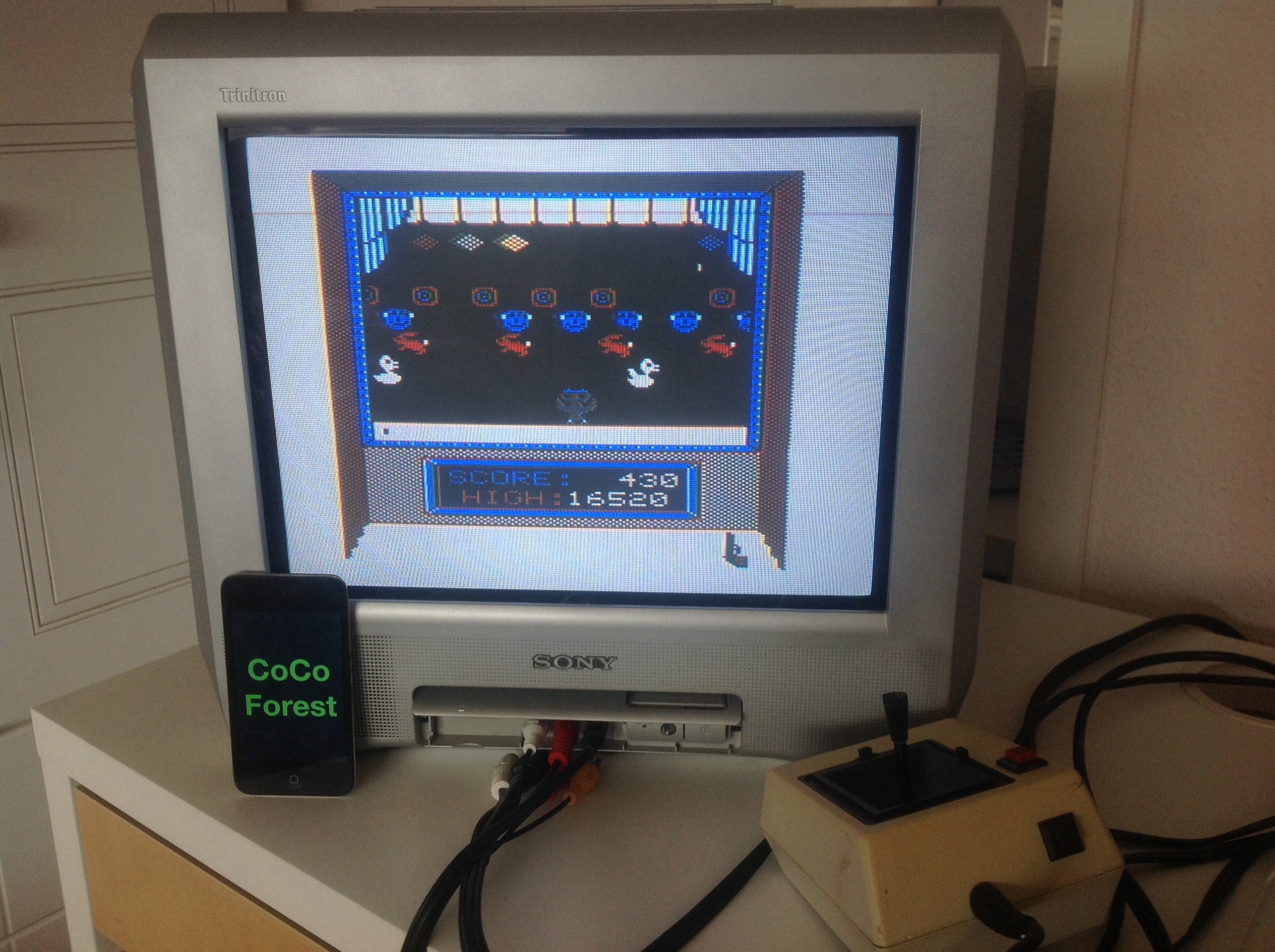 CoCoForest: Shooting Gallery (TRS-80 CoCo) 16,520 points on 2014-10-19 04:26:55