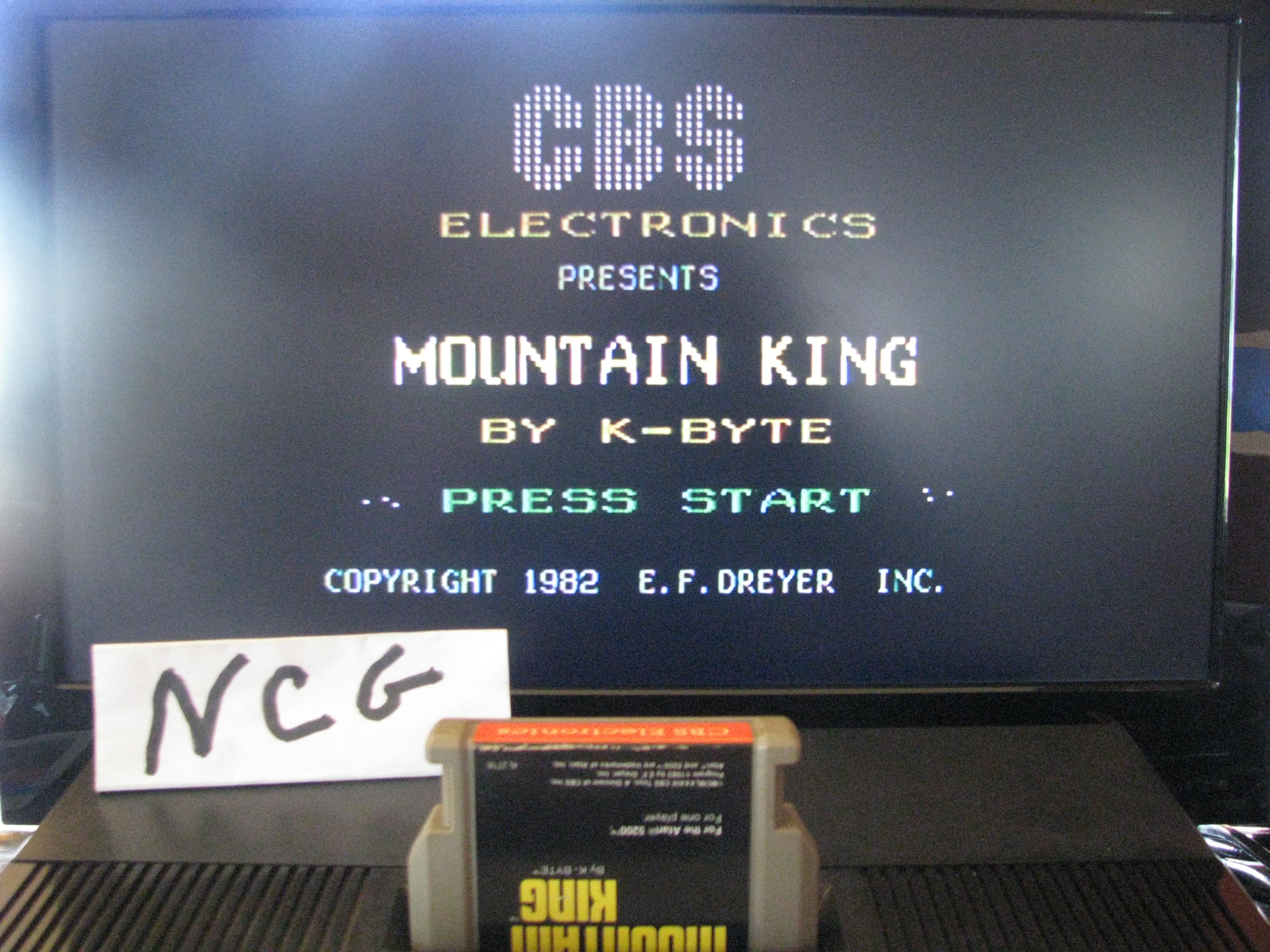 NorthCoastGamer: Mountain King (Atari 5200) 72,300 points on 2014-10-19 11:35:29
