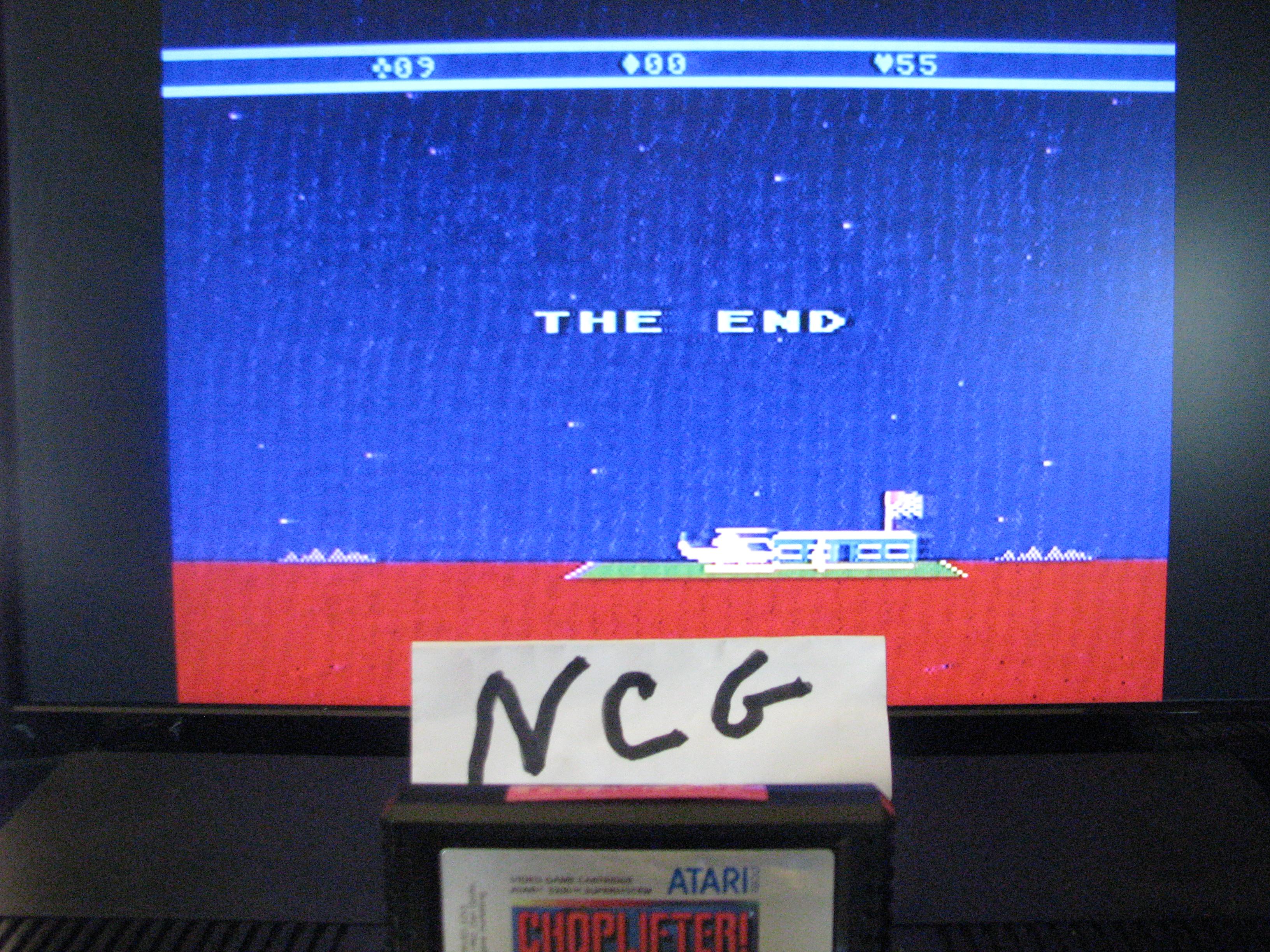 NorthCoastGamer: Choplifter! (Atari 5200) 55 points on 2014-10-19 12:13:53