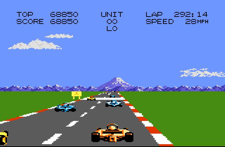Liduario: Pole Position 2: Fuji (Atari 7800 Emulated) 68,850 points on 2014-10-19 12:14:20