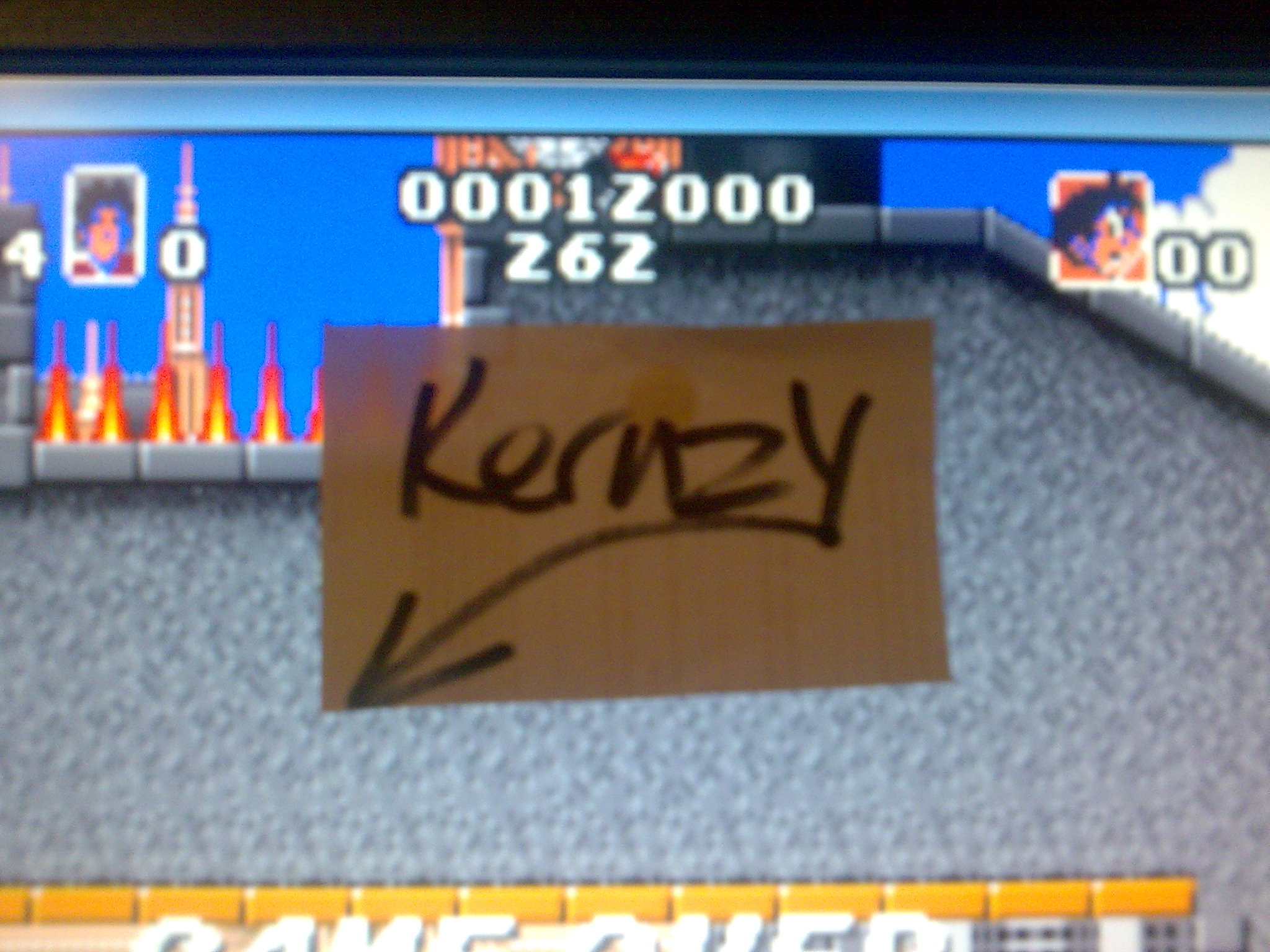 kernzy: Soccer Kid (Atari Jaguar Emulated) 12,000 points on 2014-10-20 18:11:53