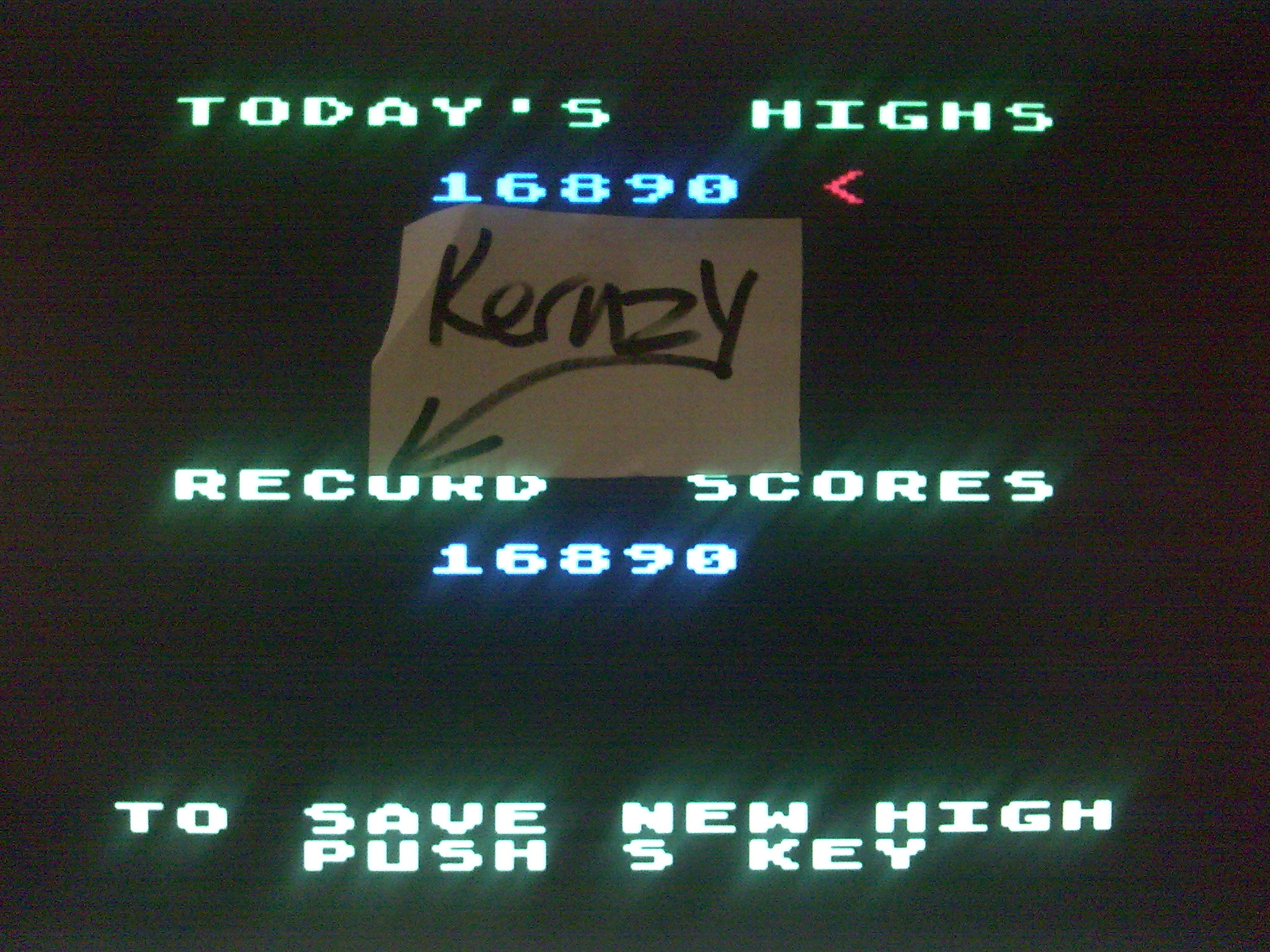 kernzy: Gorf (Atari 400/800/XL/XE Emulated) 16,890 points on 2014-10-21 13:05:43
