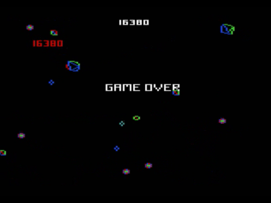 Space Duel: 1P Intermediate 16,380 points