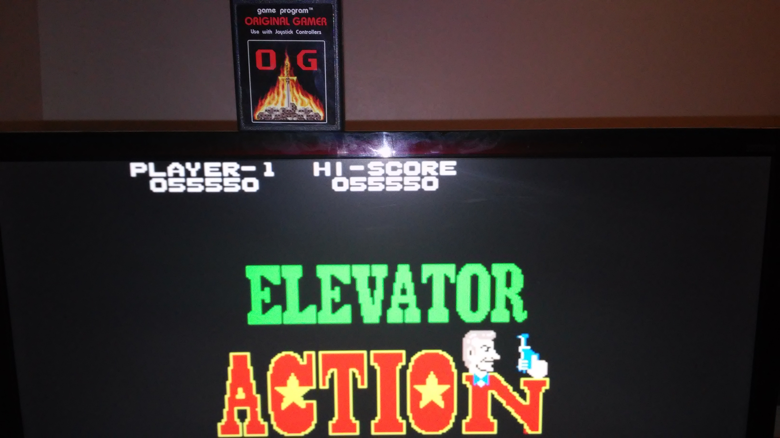 Elevator Action 55,550 points