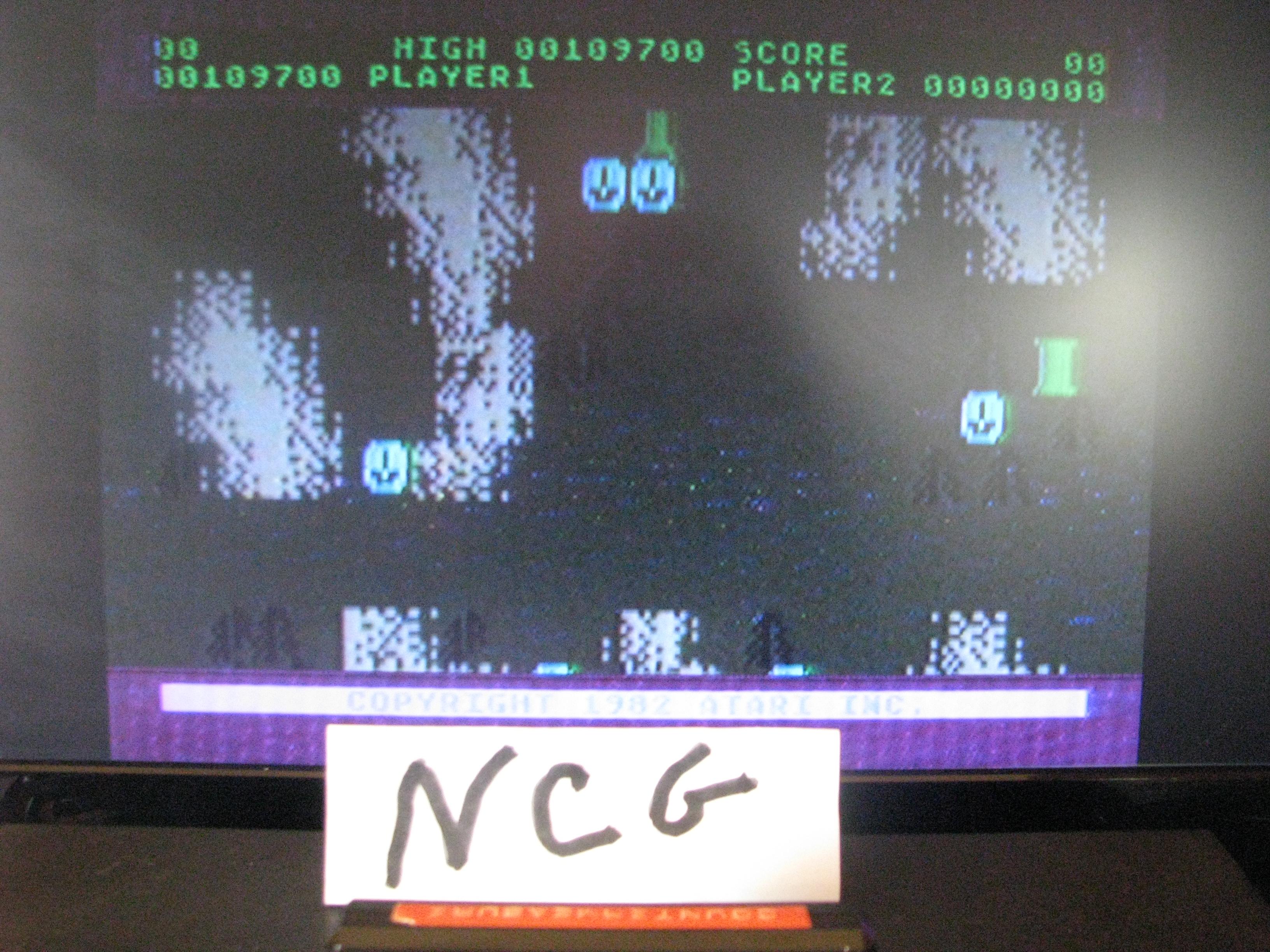 NorthCoastGamer: Countermeasure: Skill 0 (Atari 5200) 109,700 points on 2014-10-23 19:17:14