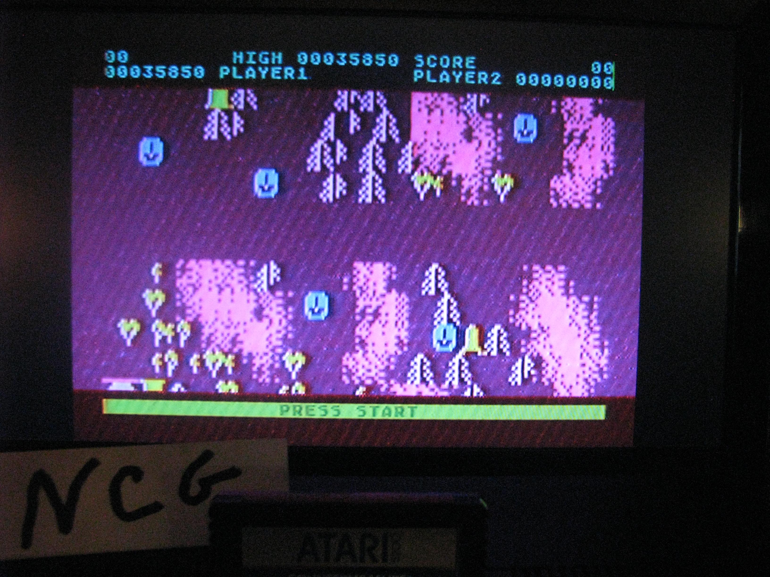 NorthCoastGamer: Countermeasure: Skill 8 (Atari 5200) 35,850 points on 2014-10-23 19:53:38
