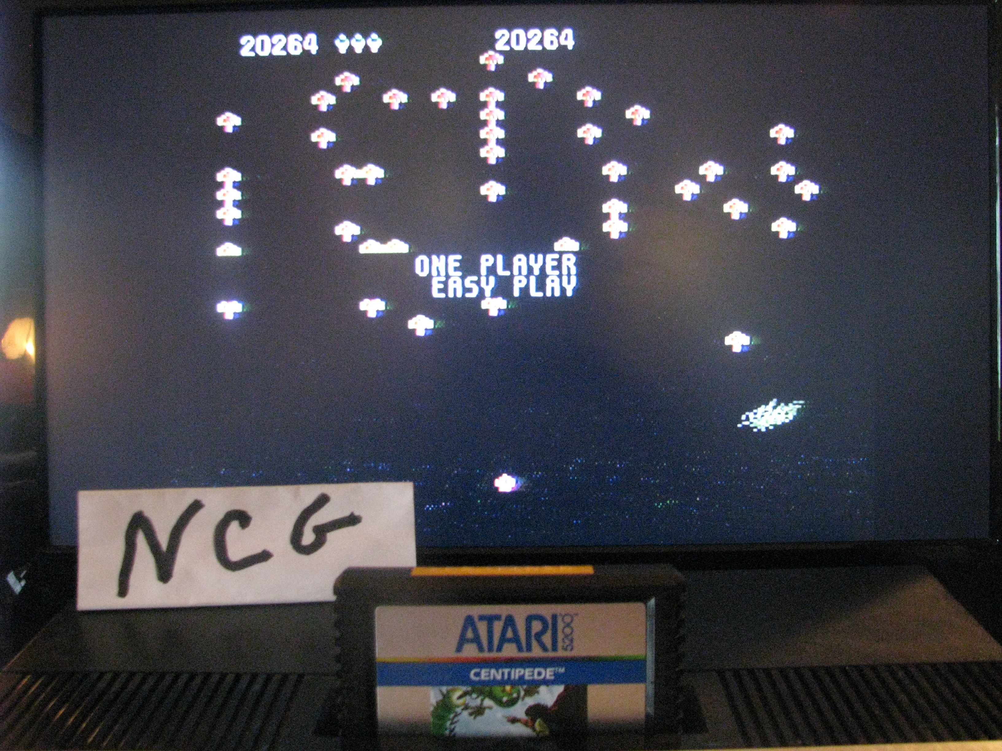NorthCoastGamer: Centipede: Easy (Atari 5200) 20,264 points on 2014-10-23 20:03:43