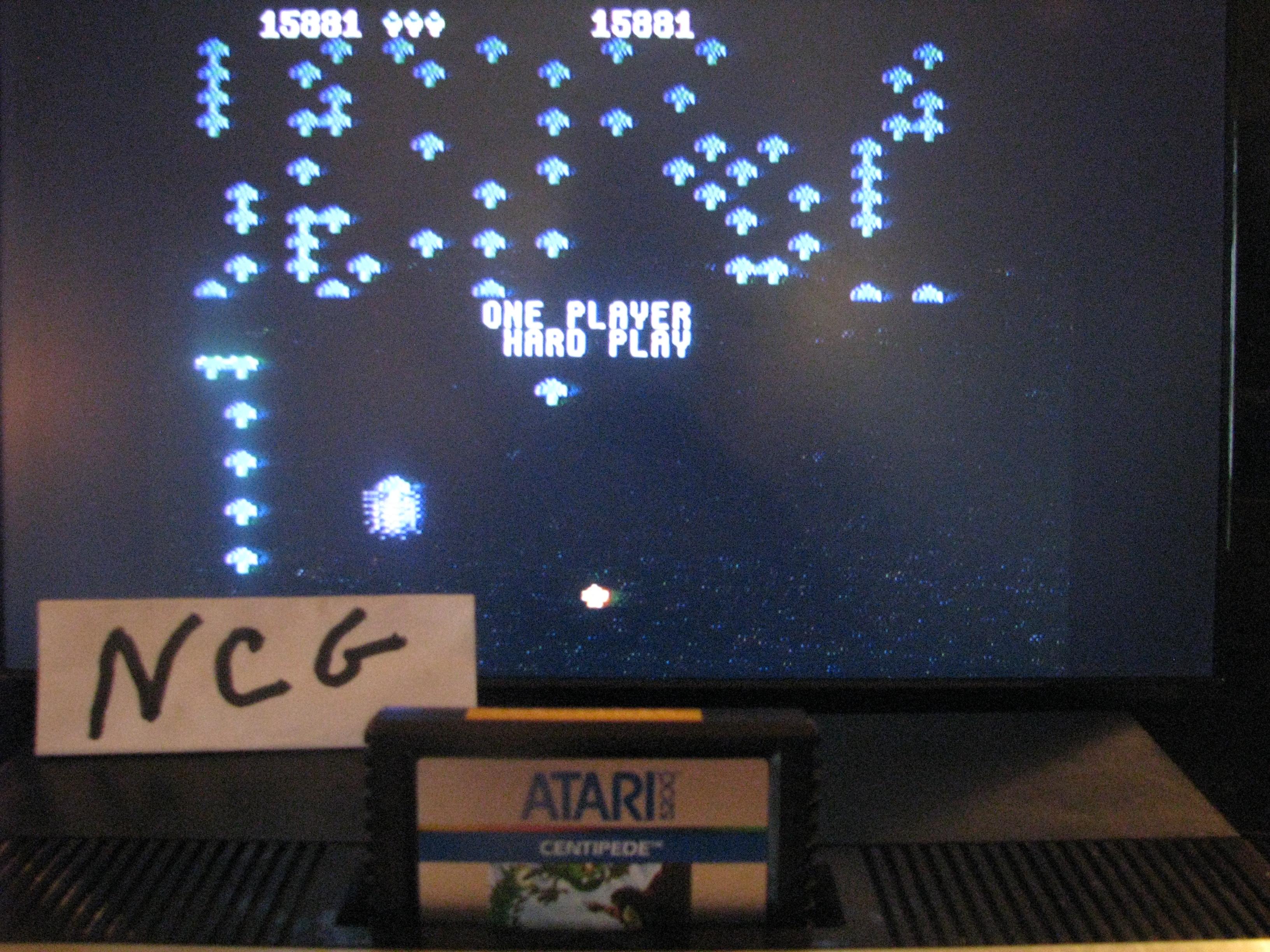 NorthCoastGamer: Centipede: Hard (Atari 5200) 15,881 points on 2014-10-23 20:10:41