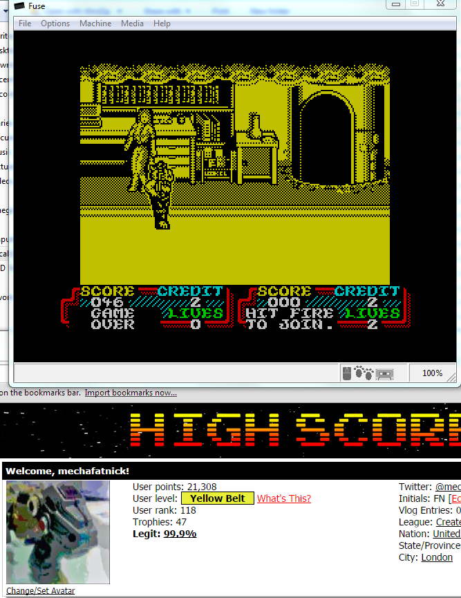 mechafatnick: Teenage Mutant Hero Turtles: The Coin-Op (ZX Spectrum Emulated) 46 points on 2014-10-24 00:25:32